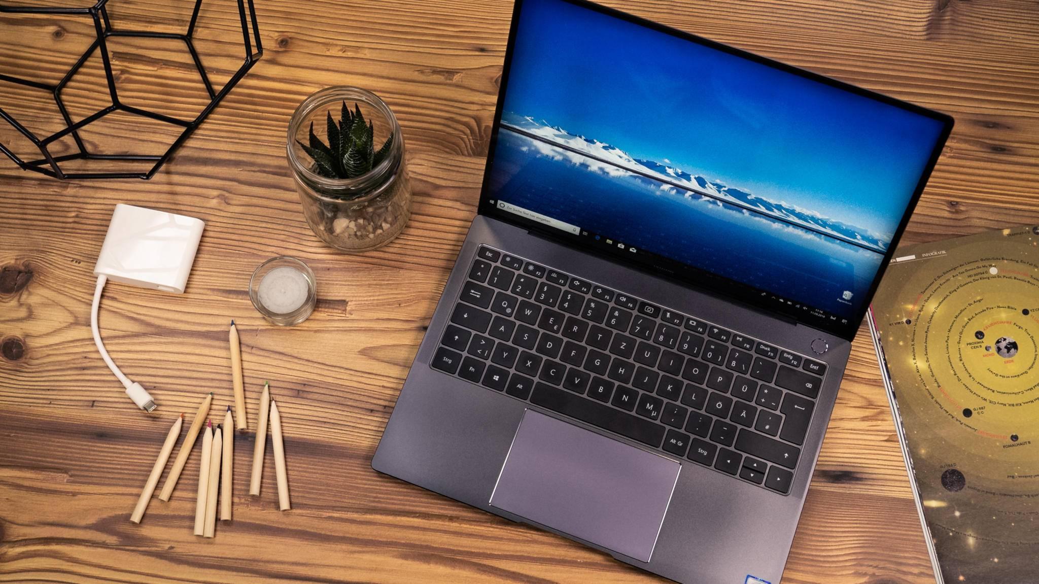 Das Huawei MateBook X Pro zählt zu den besten MacBook-Alternativen.