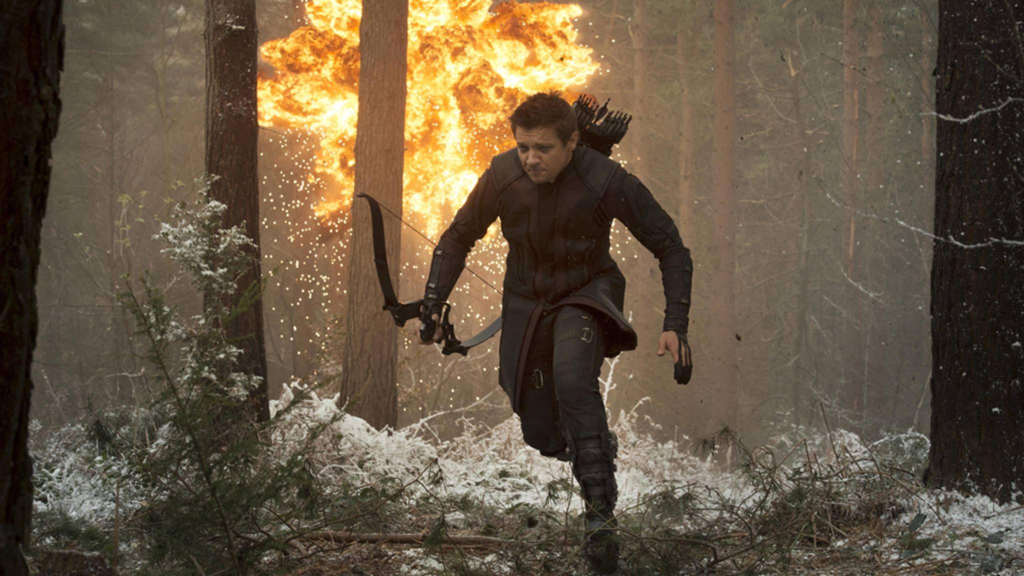 """In """"Avengers 4"""" sehen wir Hawkeye wieder in Aktion – und auf einem persönlichen Rachefeldzug gegen Thanos?"""