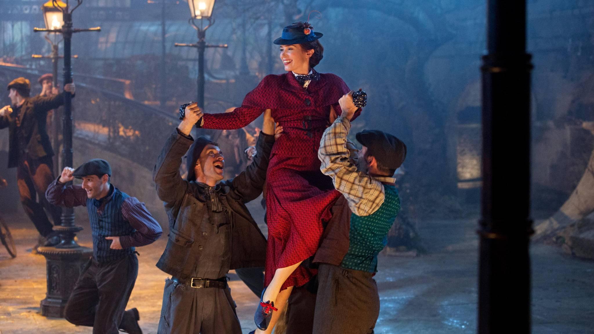 """Auch """"Mary Poppins' Rückkehr"""" gehört zu den Nominierten für die Golden Globes 2019."""