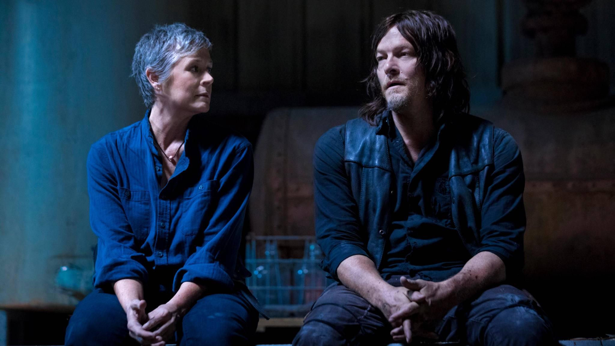 """Daryl und Carol stehen bei """"The Walking Dead"""" offenbar (vergleichsweise) rosige Zeiten bevor."""
