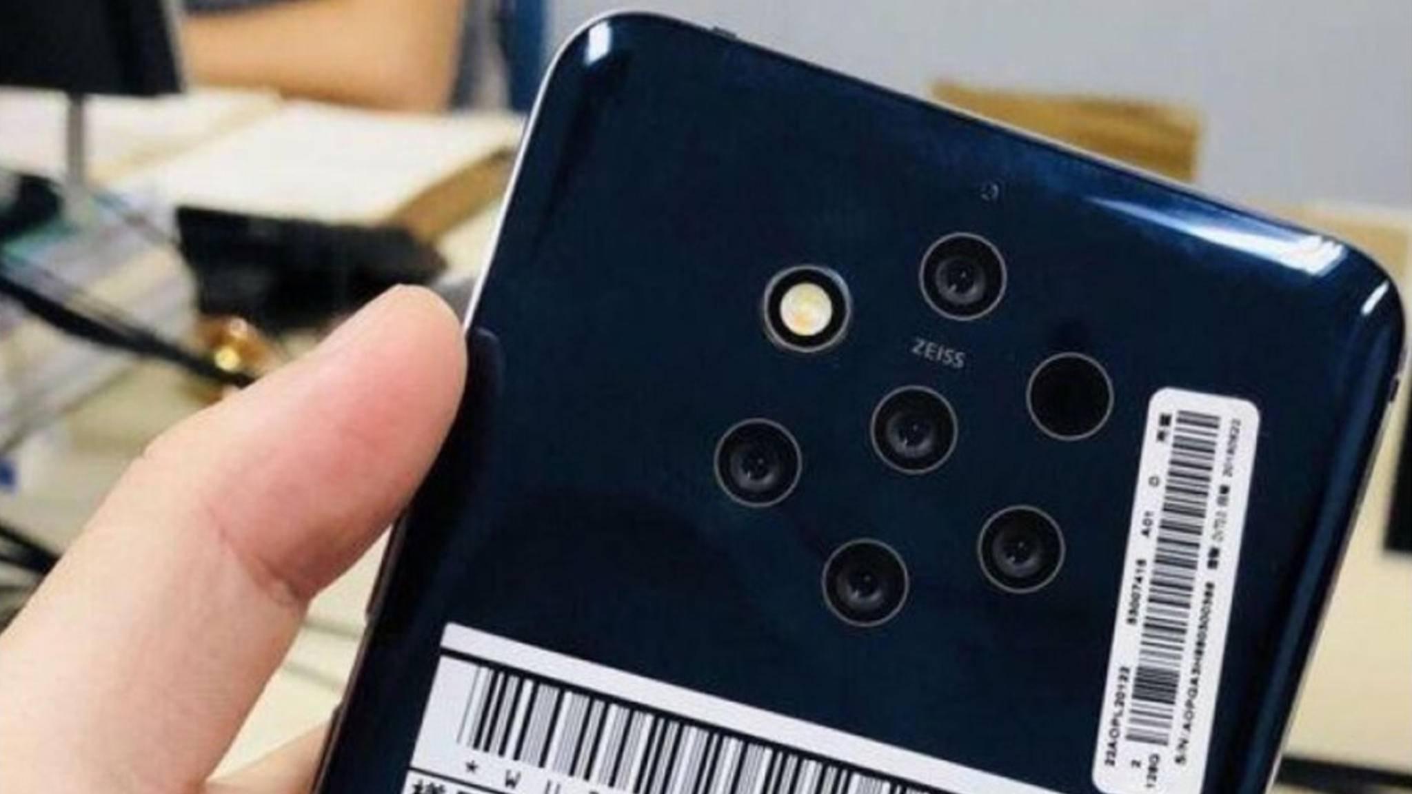 Dieses Foto vom Nokia 9 kursiert seit ein paar Tagen im Netz.