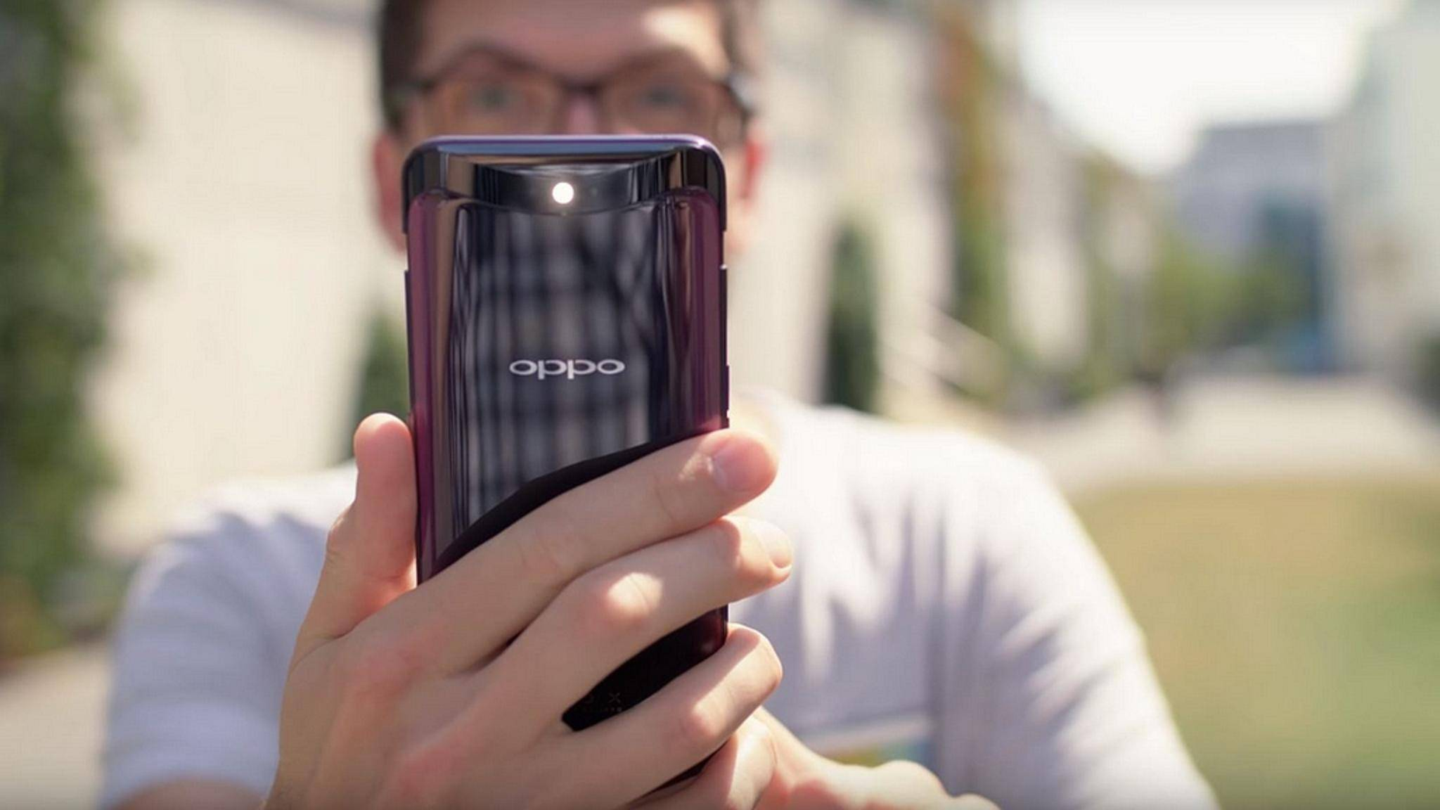 Das Oppo Find X ist ein ganz besonderes Smartphone.