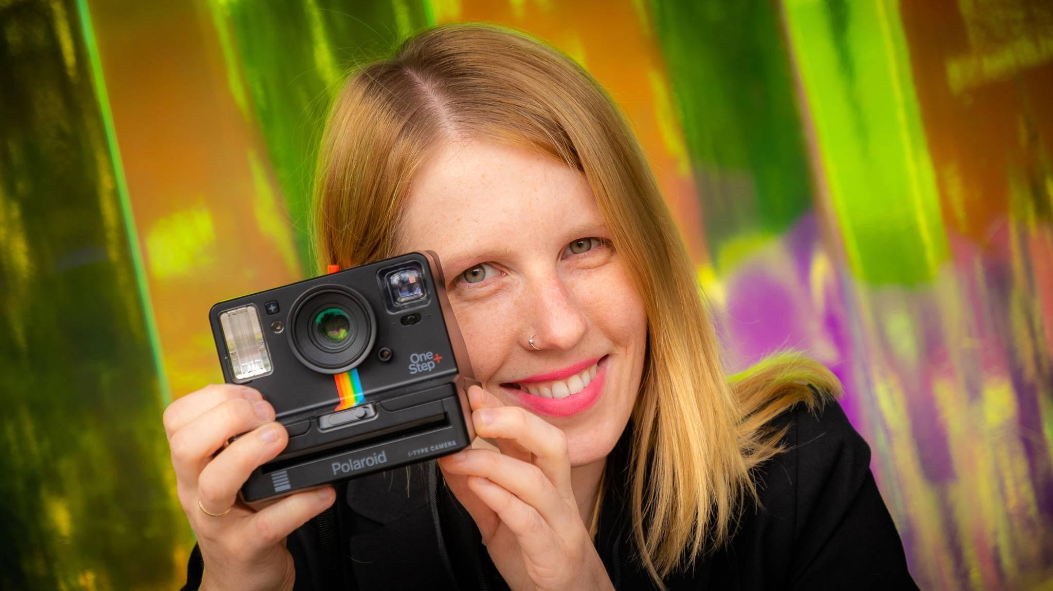 Wir durften die neue Polaroid OneStep+ direkt auf der IFA ausprobieren.
