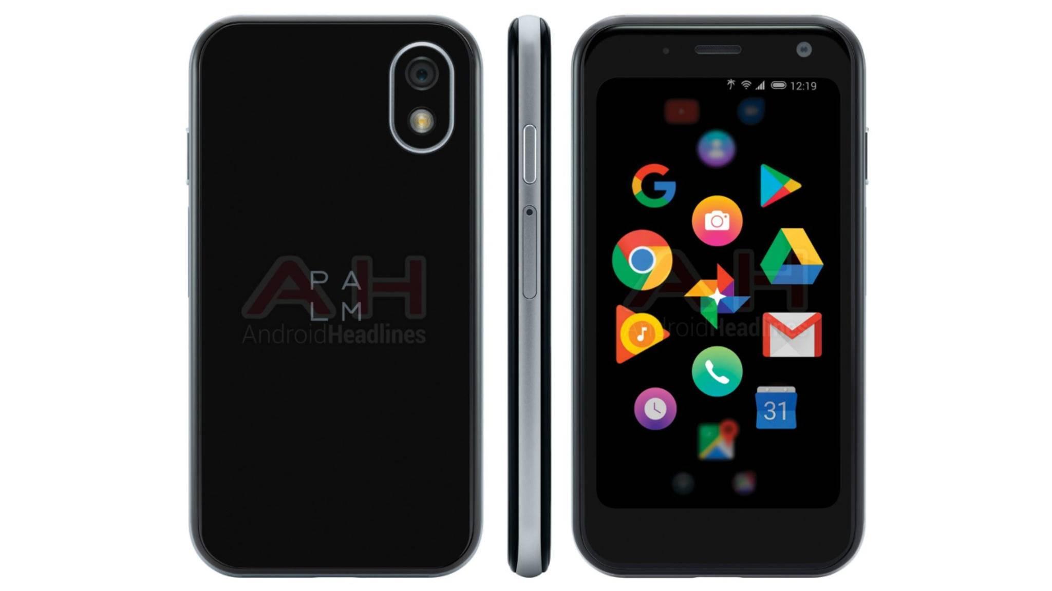 DasPalm PVG100 dürfte das kleinste Android-Handy der Welt werden.