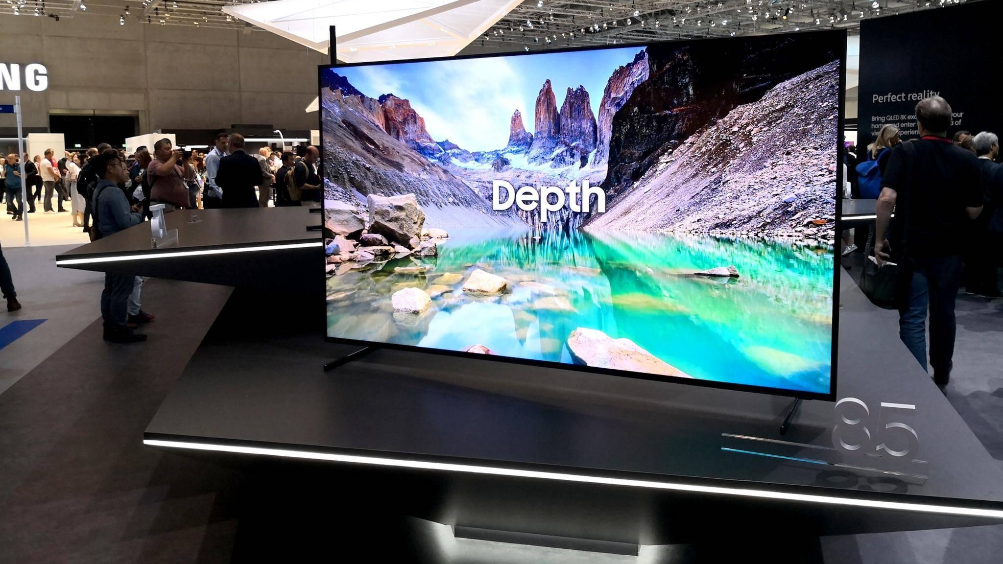 Die ersten 8K-TVs von Samsung sind schon bald im Handel erhältlich.
