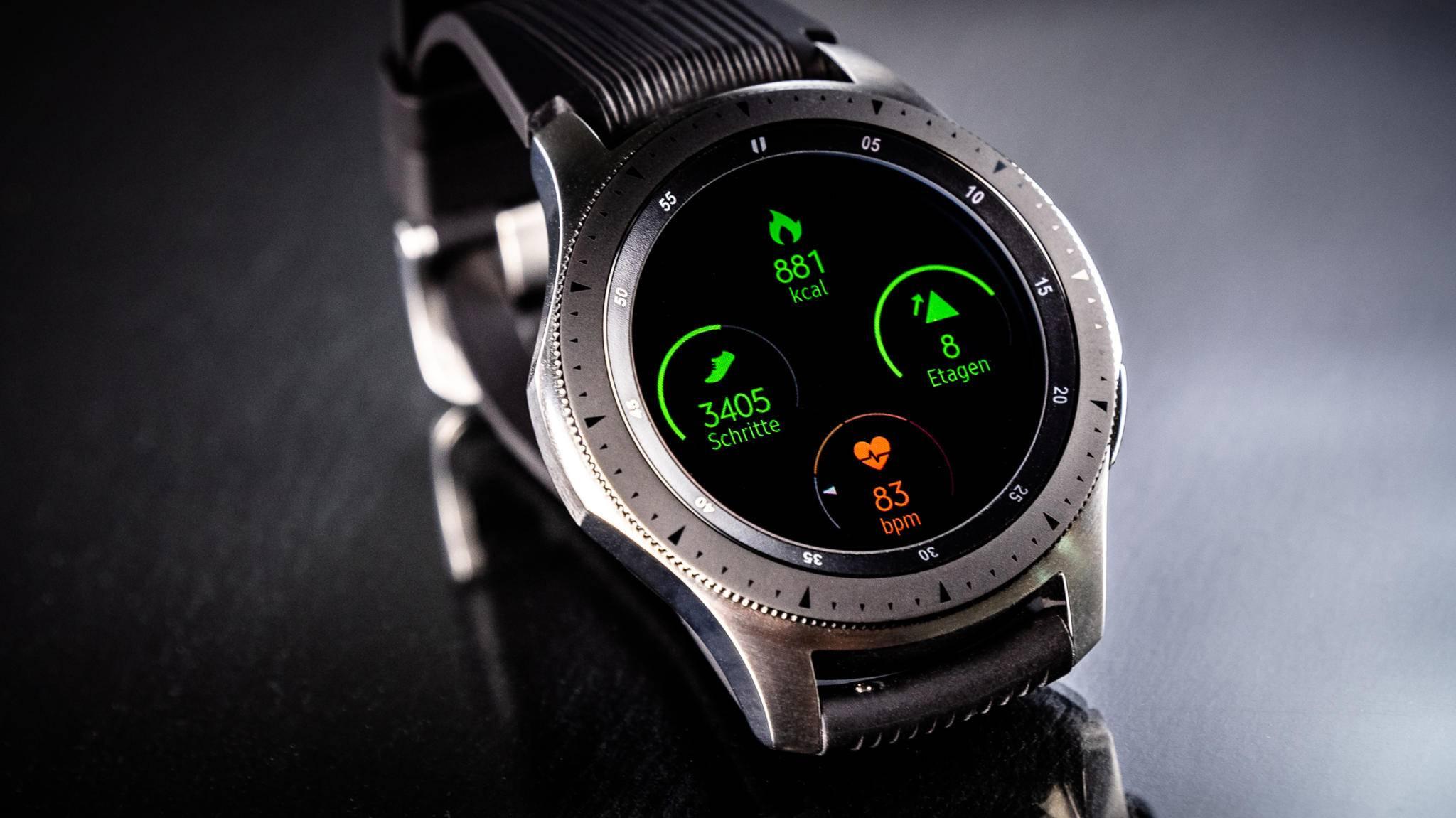 So sah die Galaxy Watch 1 im Jahre 2018 aus.