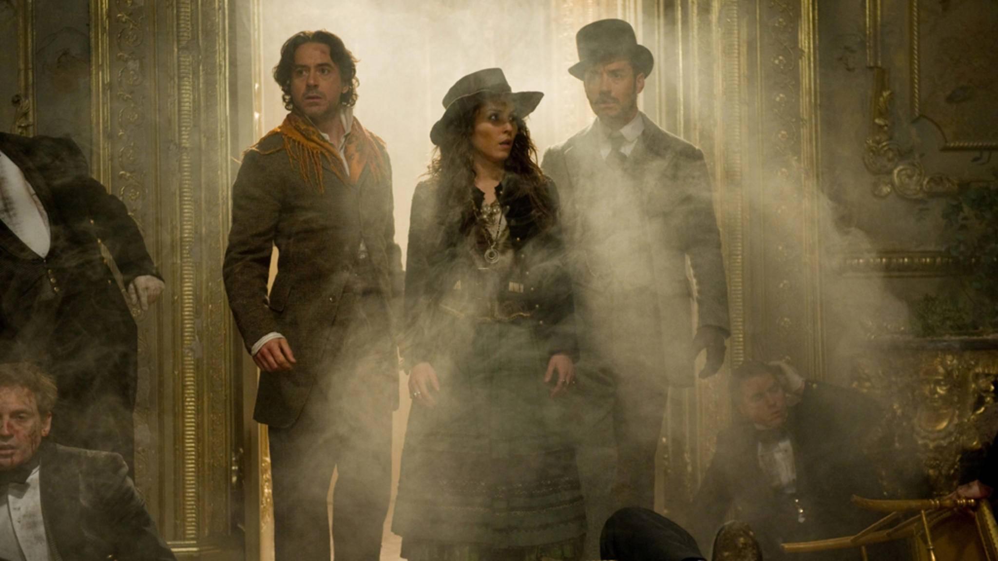 """""""Sherlock Holmes"""" zählt ebenfalls zu den Steampunk-Filmen der vergangenen Jahre."""