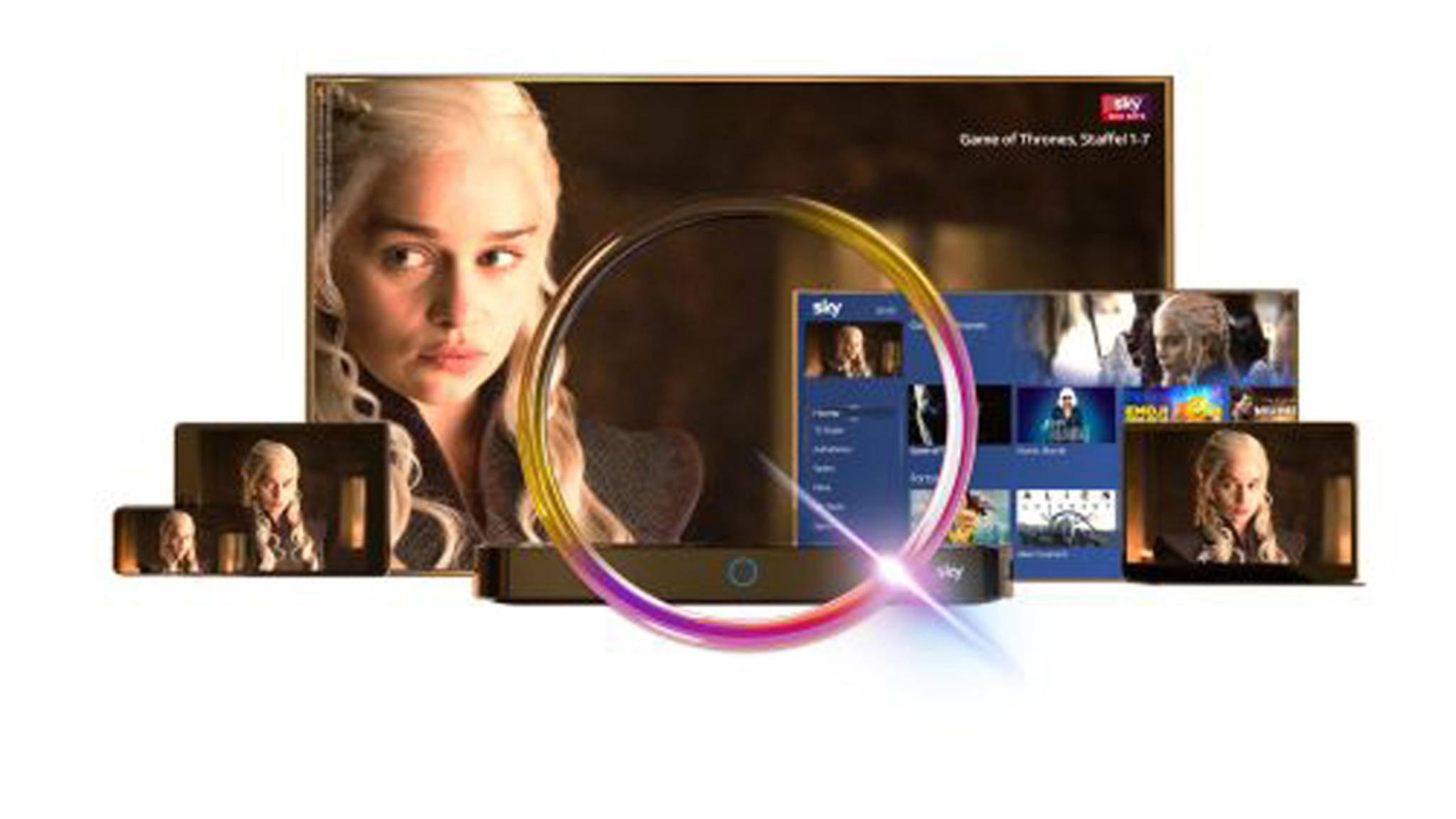 Mit Sky Q hat der Pay-TV-Anbieter sein Programm generalüberholt.