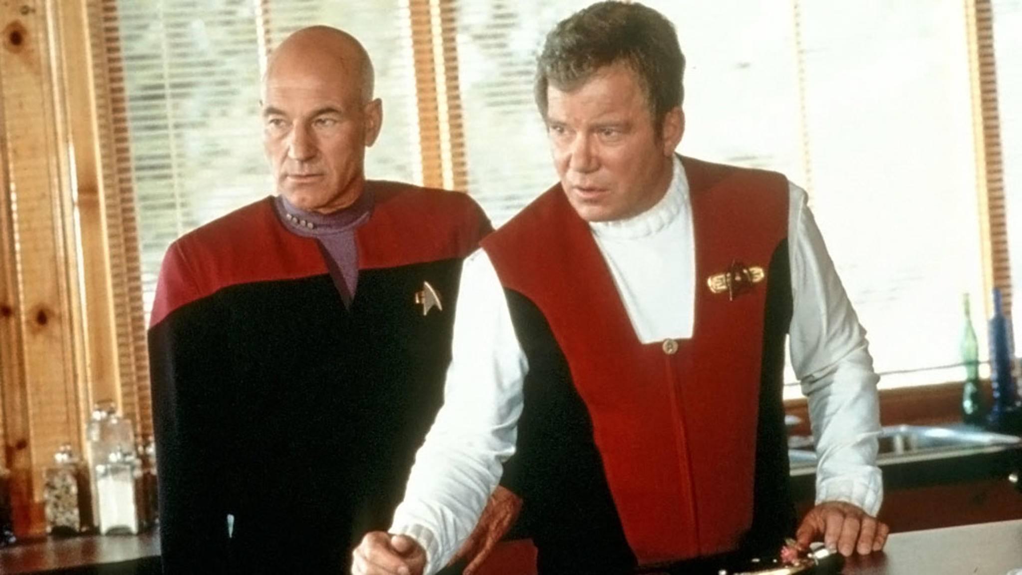 """Nach Captain Picard könnte nun auch Captain Kirk zu """"Star Trek"""" zurückkehren."""