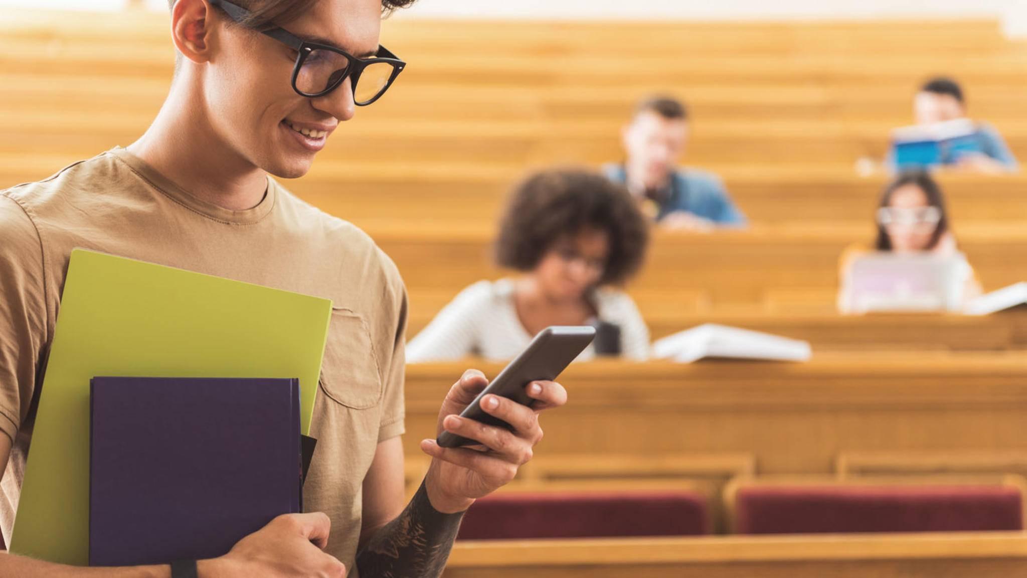 Studenten-Apps können Dir dabei helfen, Dein Studium entspannt zu organisieren.