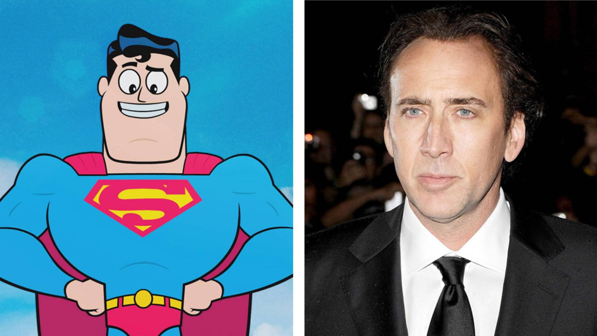 Einmal Held sein: Erfüllt sich für Superman-Fan Nicolas Cage doch noch ein großer Traum?