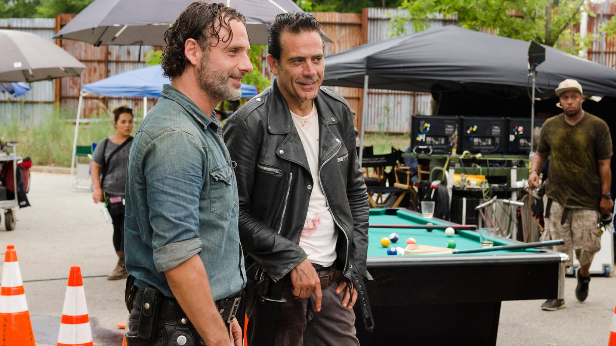 """Bahnt sich da etwa eine neue """"The Walking Dead""""-Bromance an?"""