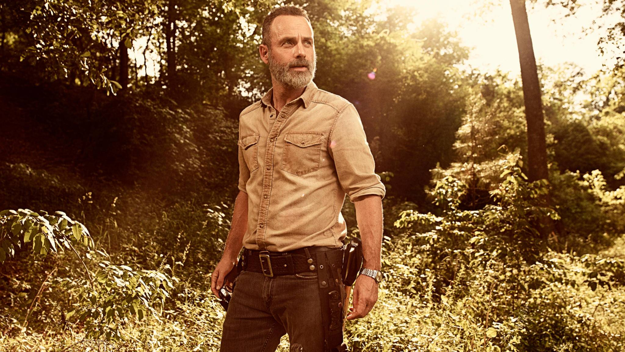 "So ganz kann Andrew Lincoln ""The Walking Dead"" doch nicht hinter sich lassen."