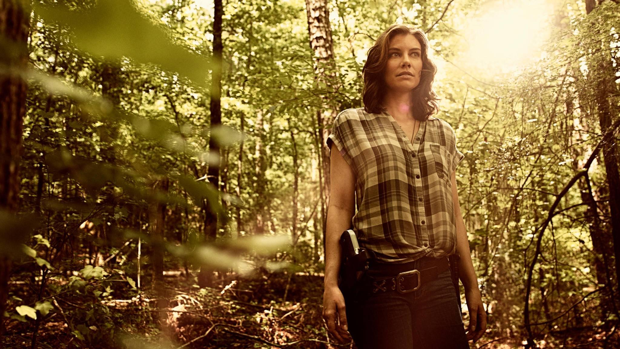 """Sie ist wieder zurück: Lauren Cohan als Maggie Rhee in """"The Walking Dead""""."""