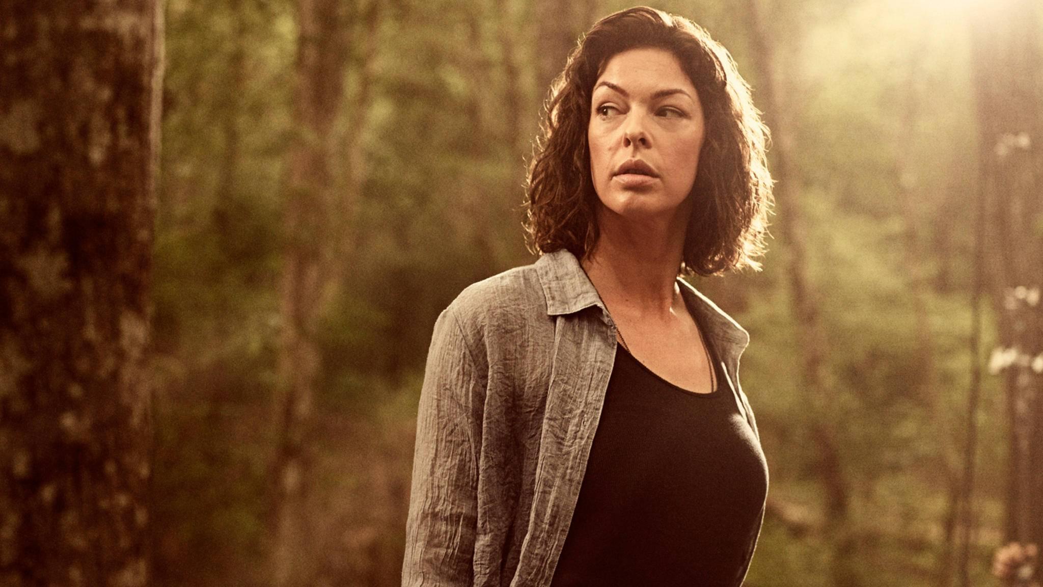 """Jadis-Darstellerin Pollyanna McIntosh hatte so Einiges zum ersten """"The Walking Dead""""-Film zu sagen."""