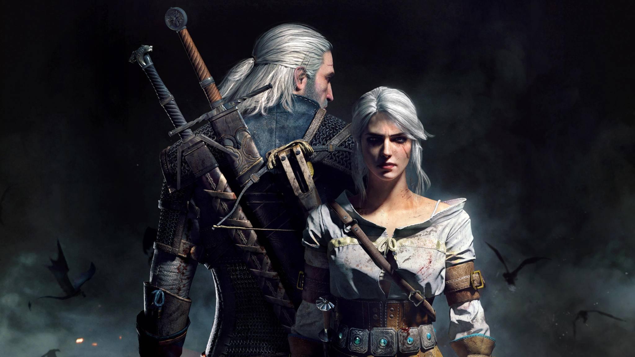 Geralt Ciri witcher