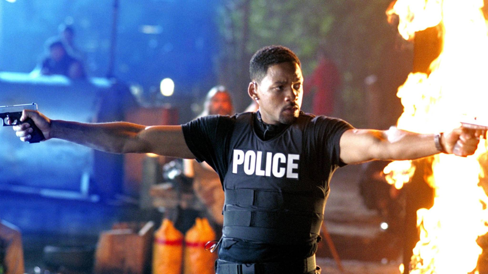 "Will Smith in seiner Paraderolle als Detective Mike Lowrey in ""Bad Boys""."