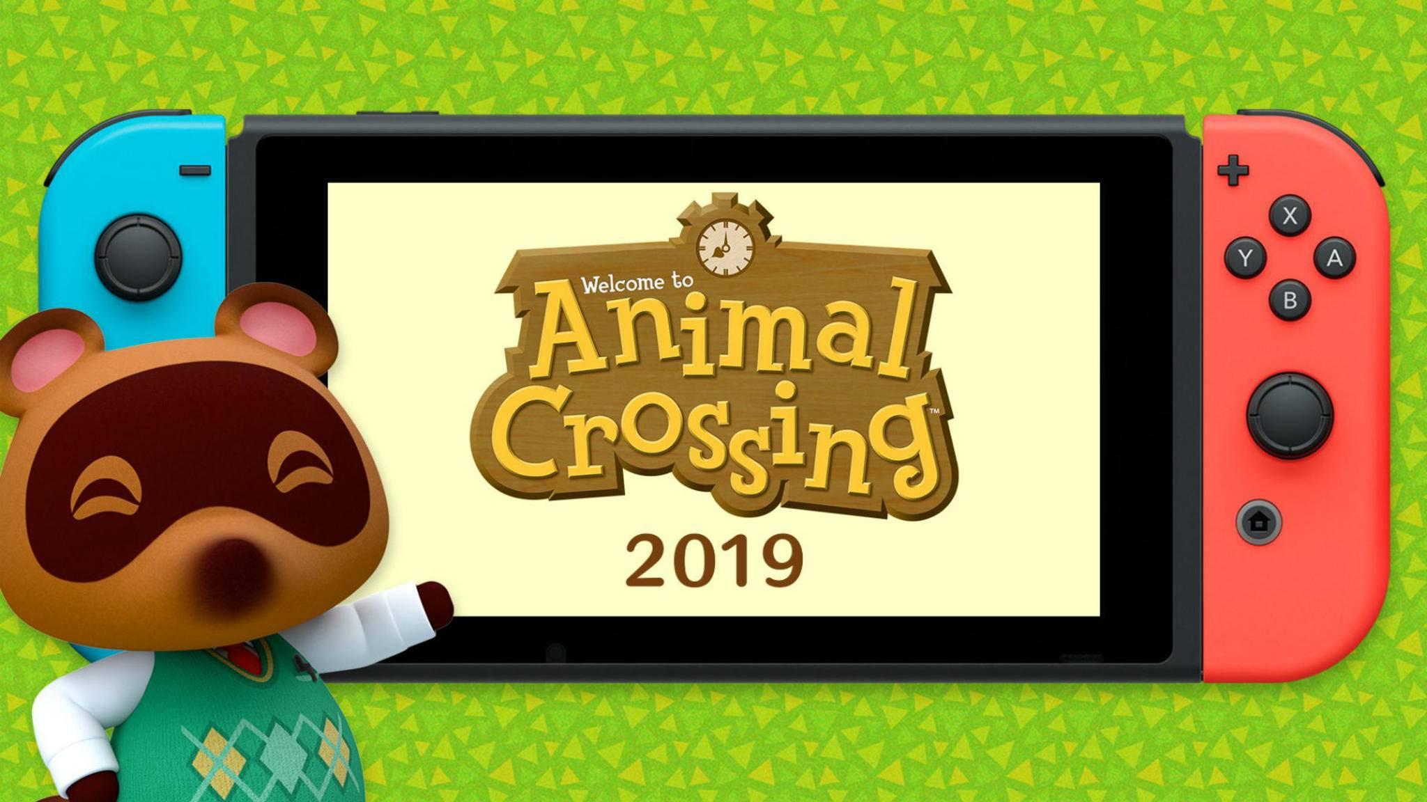 """Bereit ein neues Haus zu kaufen? 2019 erscheint ein neues """"Animal Crossing"""" auf der Nintendo Switch."""