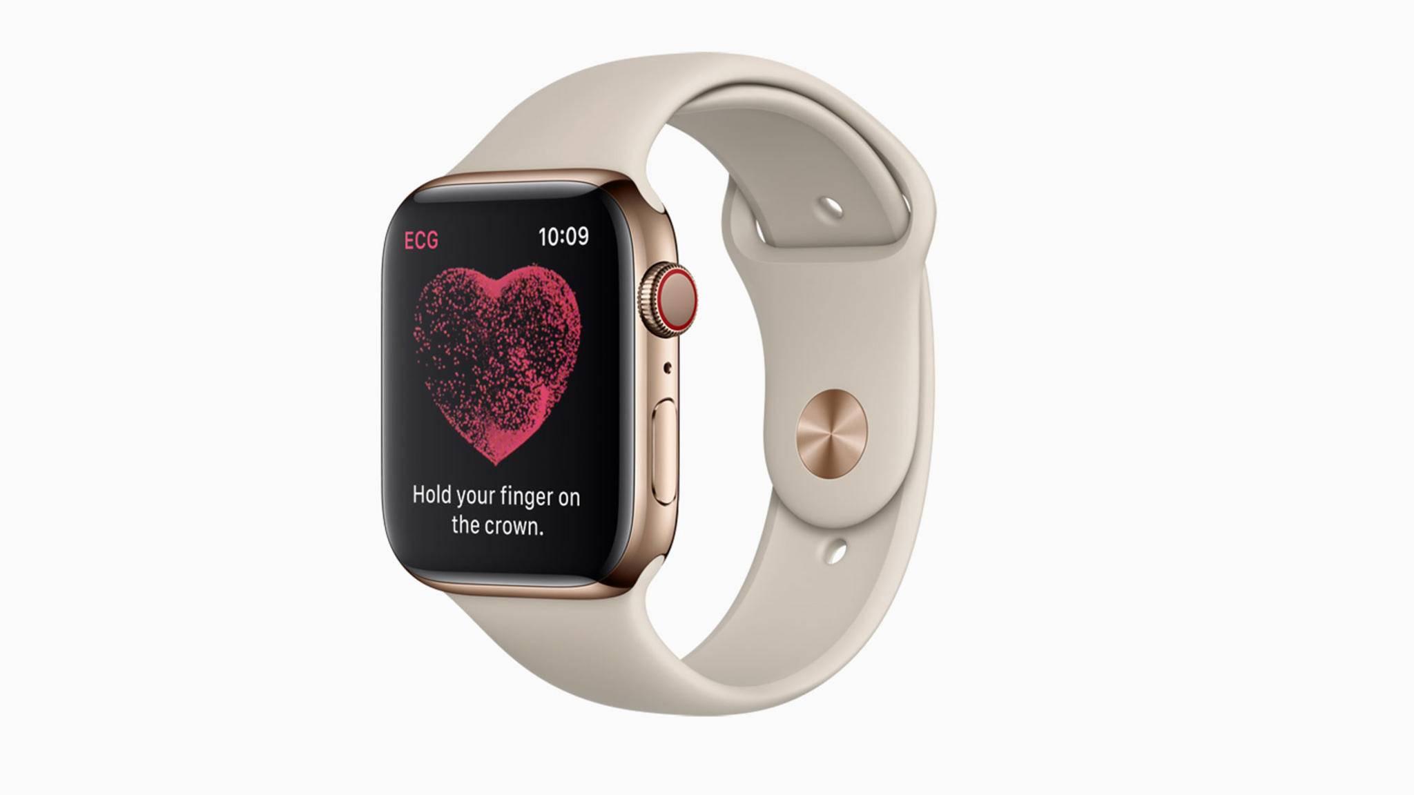 Mit dem Update auf watchOS 5.2 kommt das EKG-Feature der Apple Watch nach Europa.
