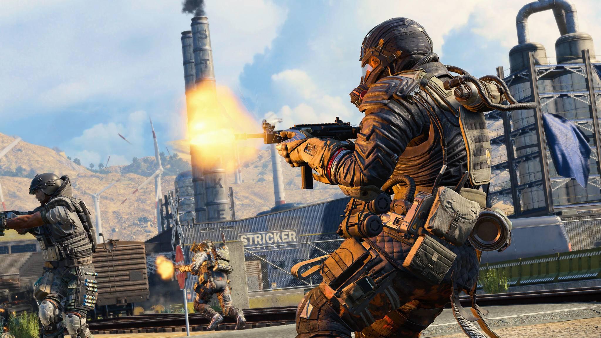 """Das neue """"Call of Duty"""" soll wie geplant in diesem Jahr erscheinen. (Bild: """"Call of Duty: Black Ops 4 Blackout"""")"""