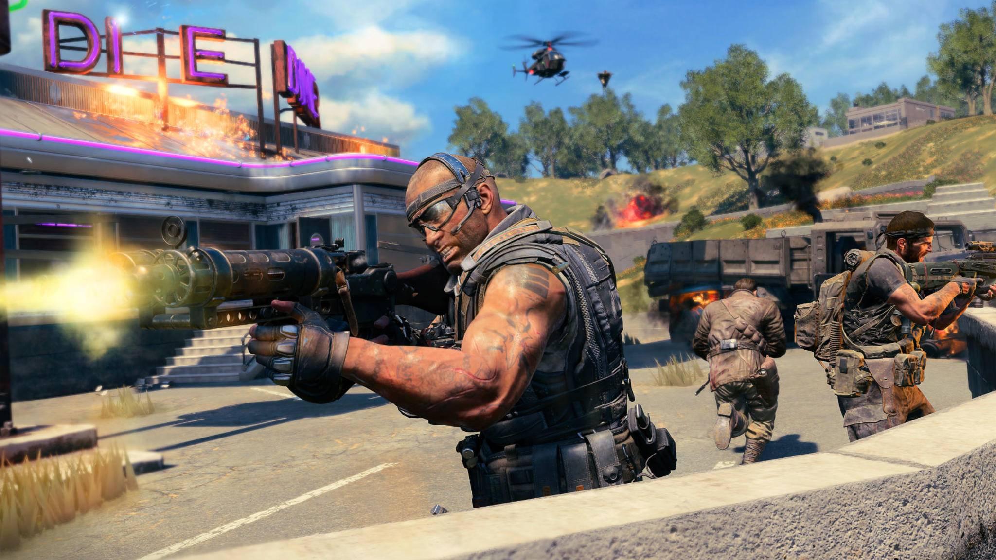 """Die Server in """"Call of Duty: Black Ops 4"""" laufen wieder auf voller Kraft, nur Blackout ist weiterhin gedrosselt."""