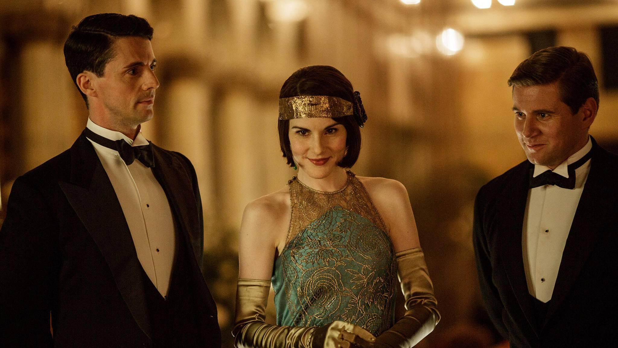 """Der Cast wirft sich in Schale, denn der Dreh zum """"Downton Abbey""""-Film ist in vollem Gange."""