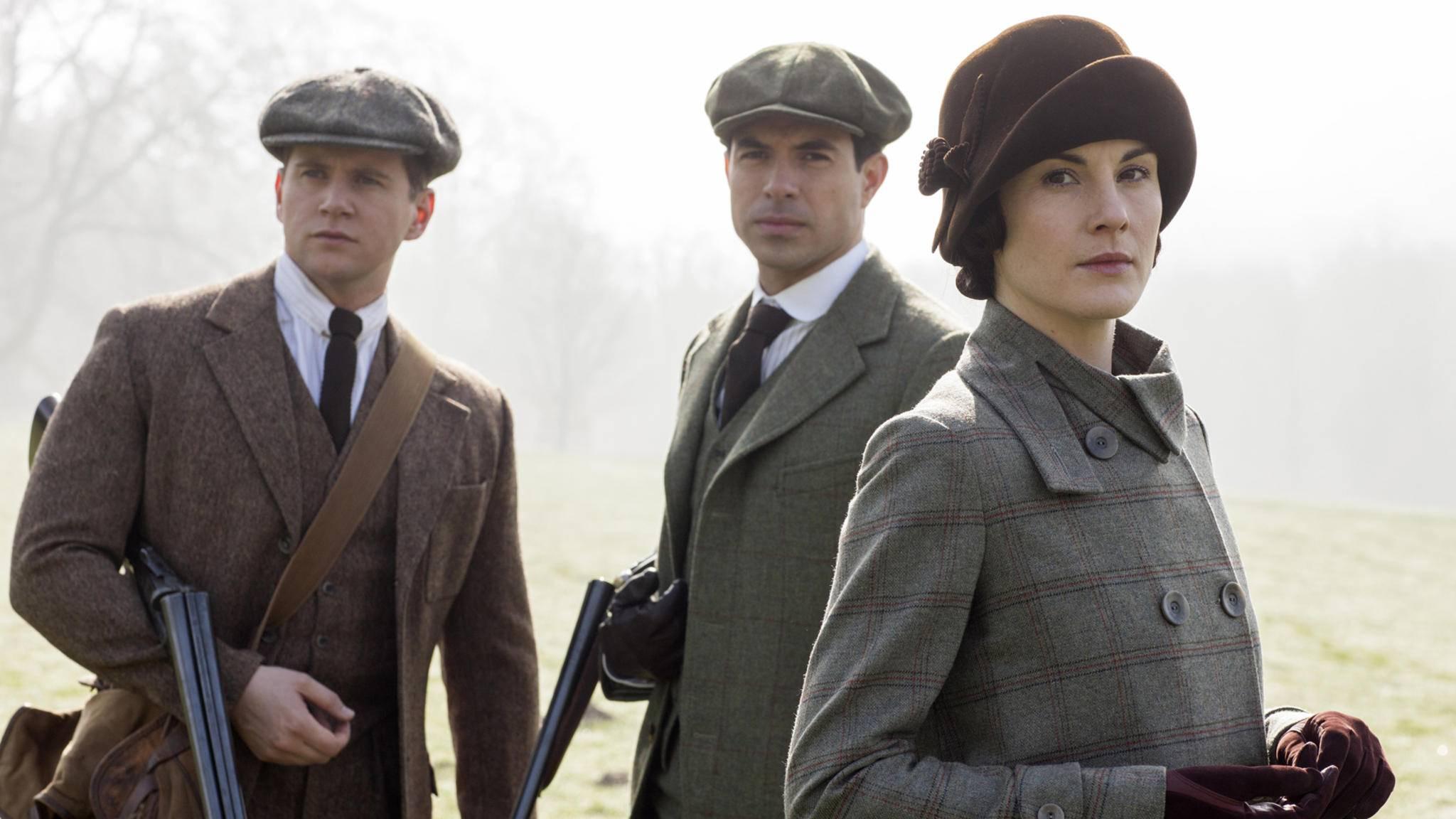 """Rechtzeitig zur Jagdsaison kommt der """"Downton Abbey""""-Film in die Kinos."""