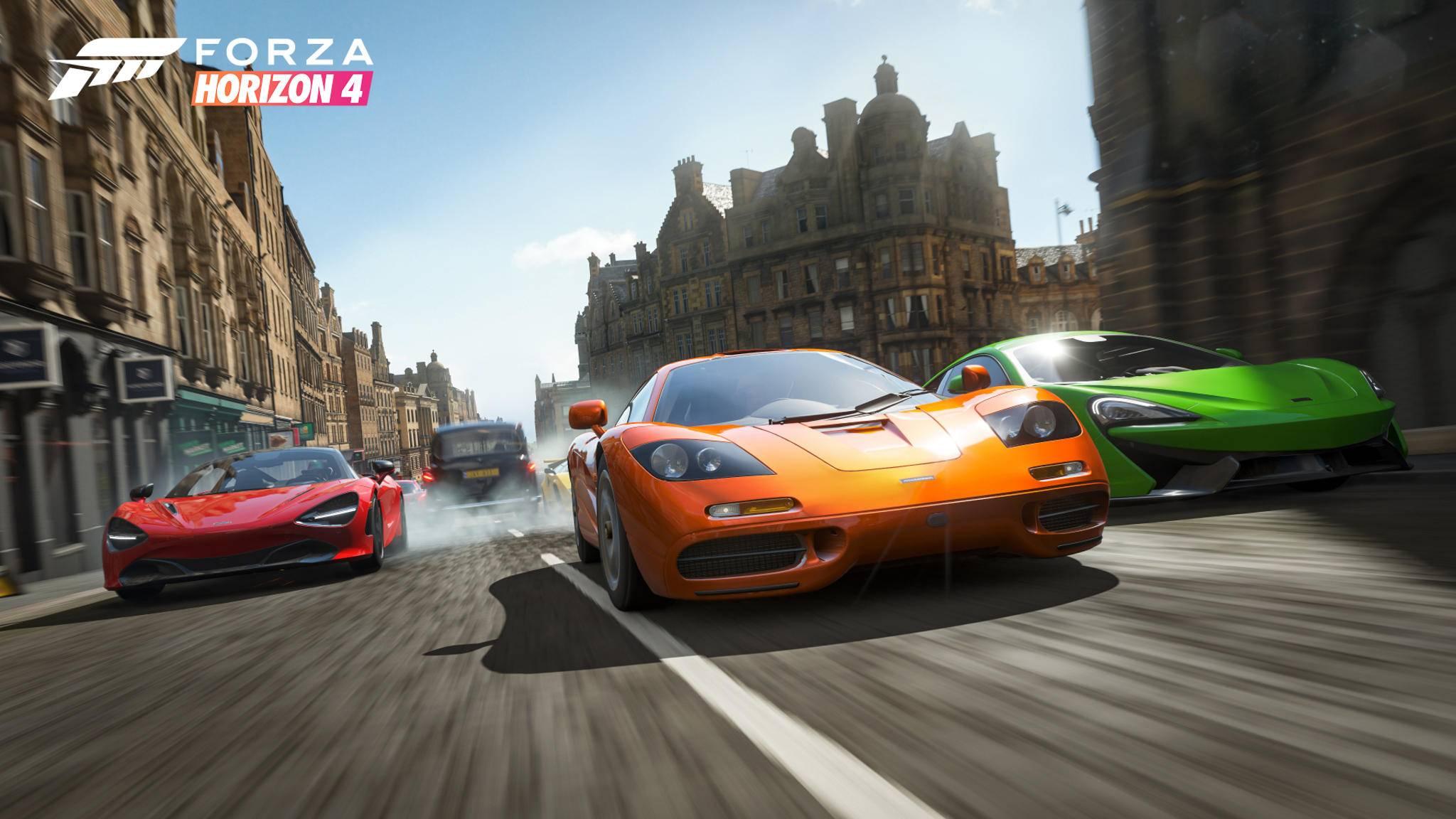 """Neues Auto gefällig? Mit unseren Tipps hast Du in """"Forza Horizon 4"""" immer genug Kleingeld in der Tasche."""