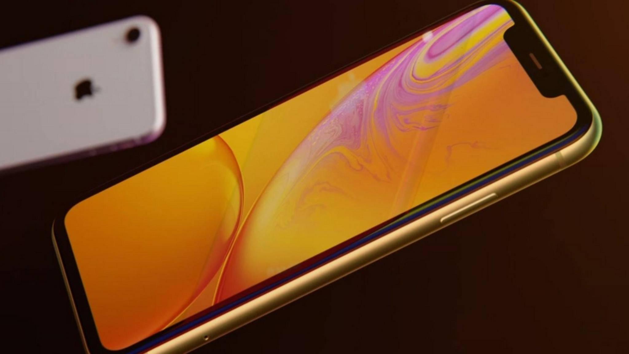 Das iPhone XR ist günstiger zu haben als das iPhone XS und das XS Max.