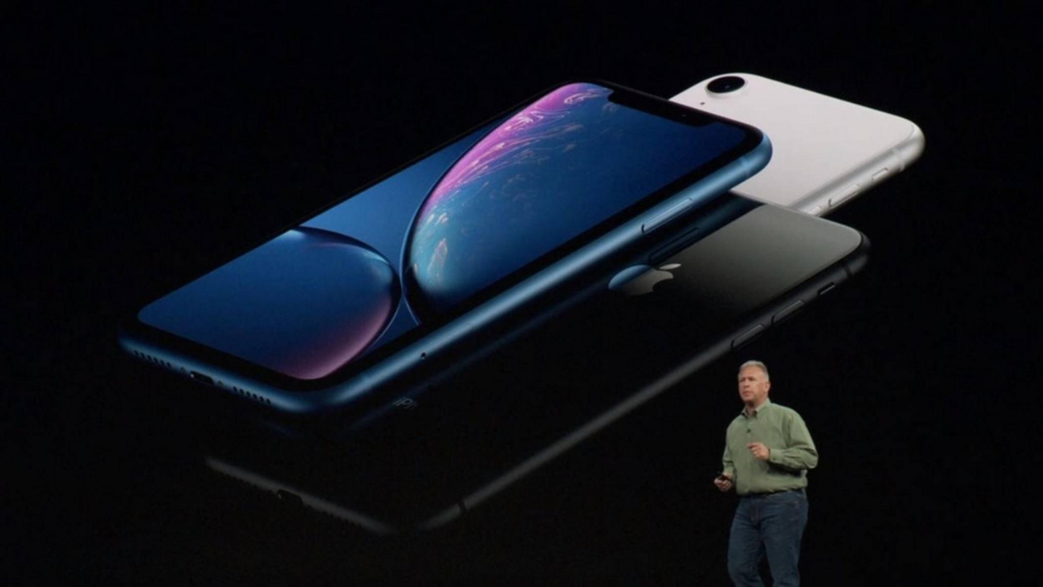 Das iPhone XR ist das günstigste Modell unter den neuen iPhones.