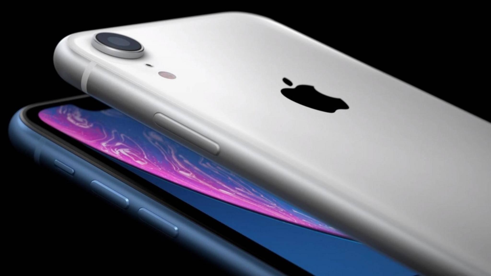 Das iPhone XR ist das günstigste Modell in Apples Smartphone-Line-up 2018.