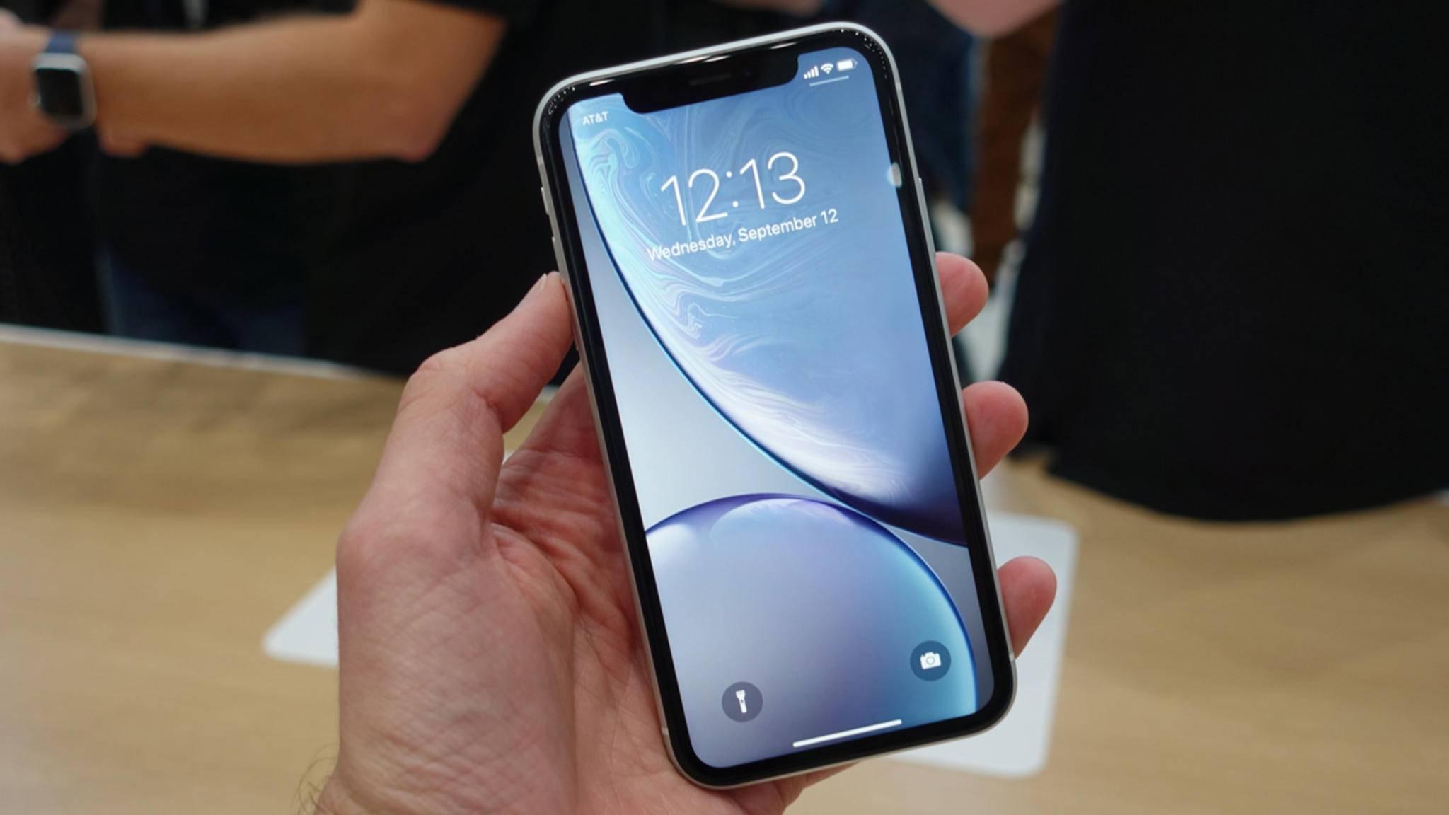 Das iPhone XR hat nur eine Single-Kamera auf der Rückseite.