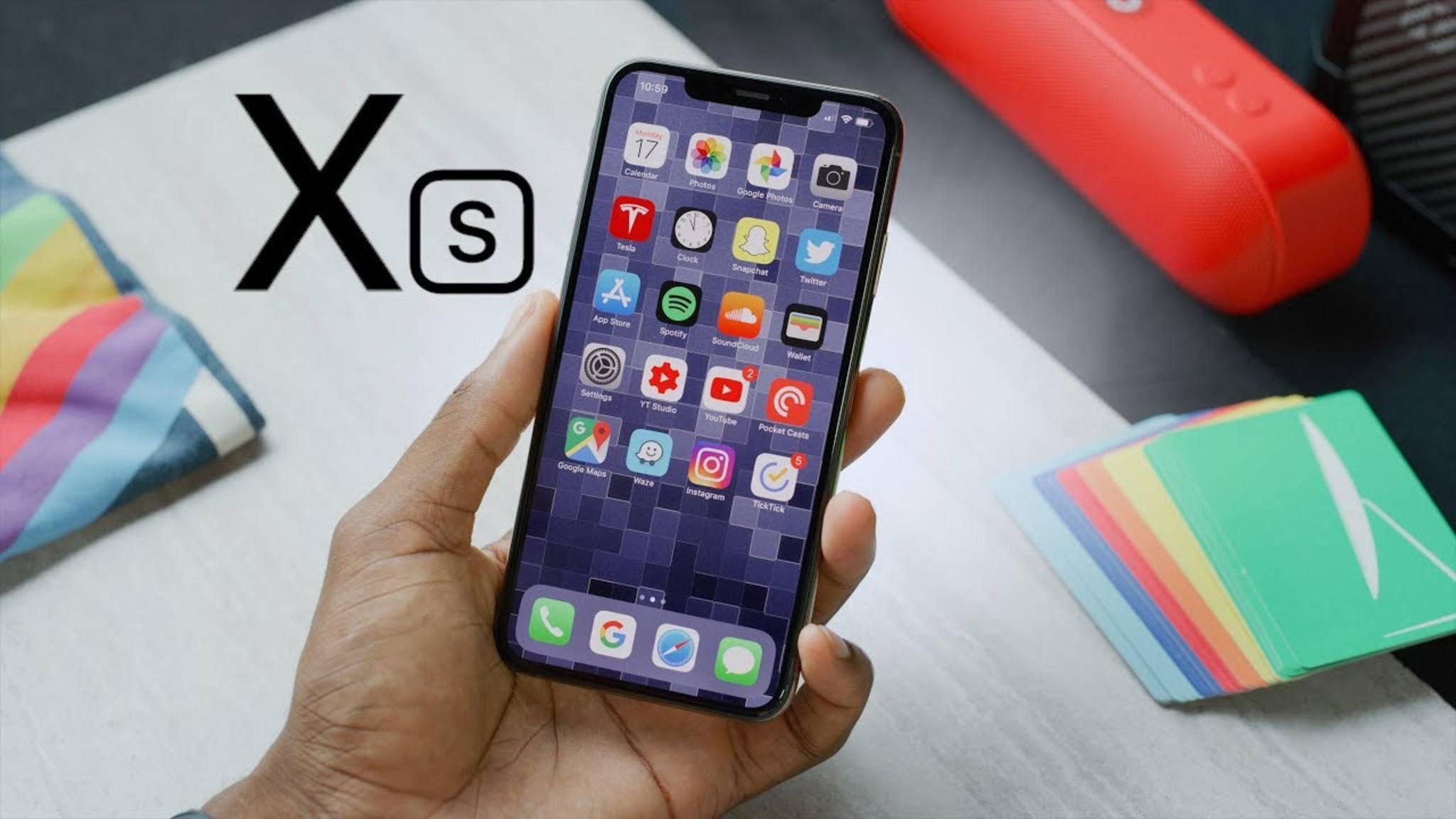 Ja, auch das iPhone XS und das iPhone XS Max haben eine Notch.