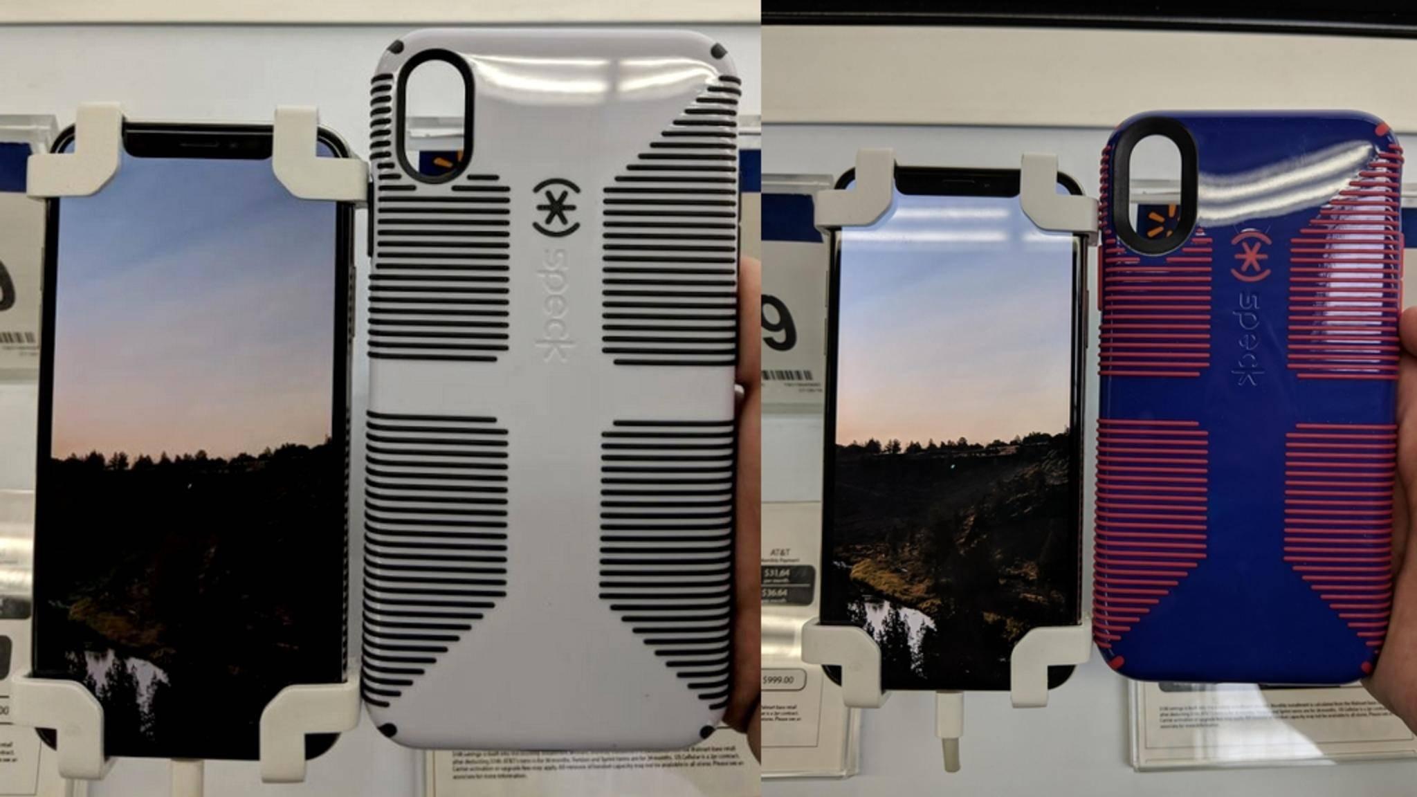 Die Hülle soll die Größe des iPhone Xs Max zeigen.