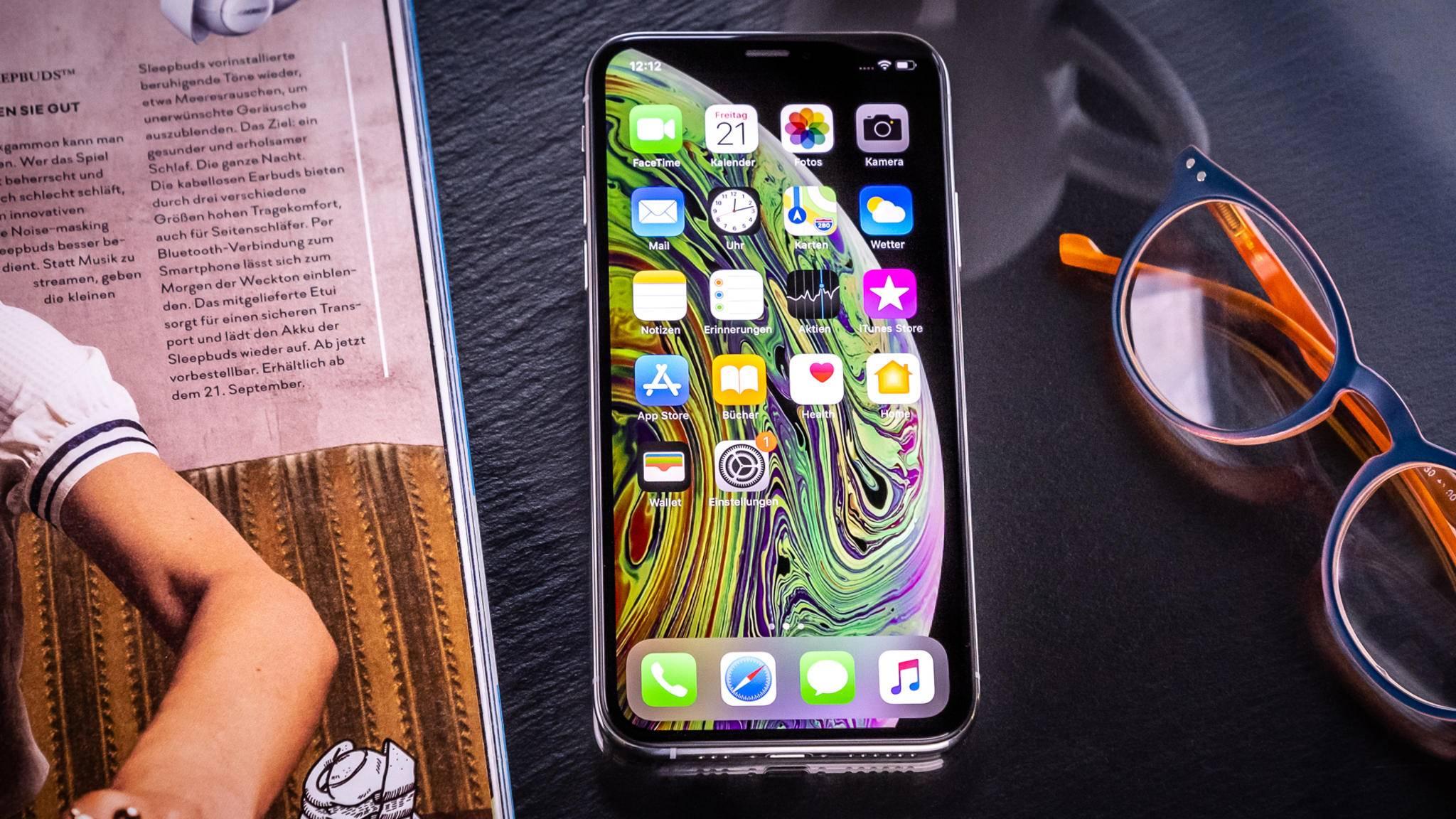 Das iPhone XS hat offenbar eine kürzere Akkulaufzeit als sein Vorgänger.