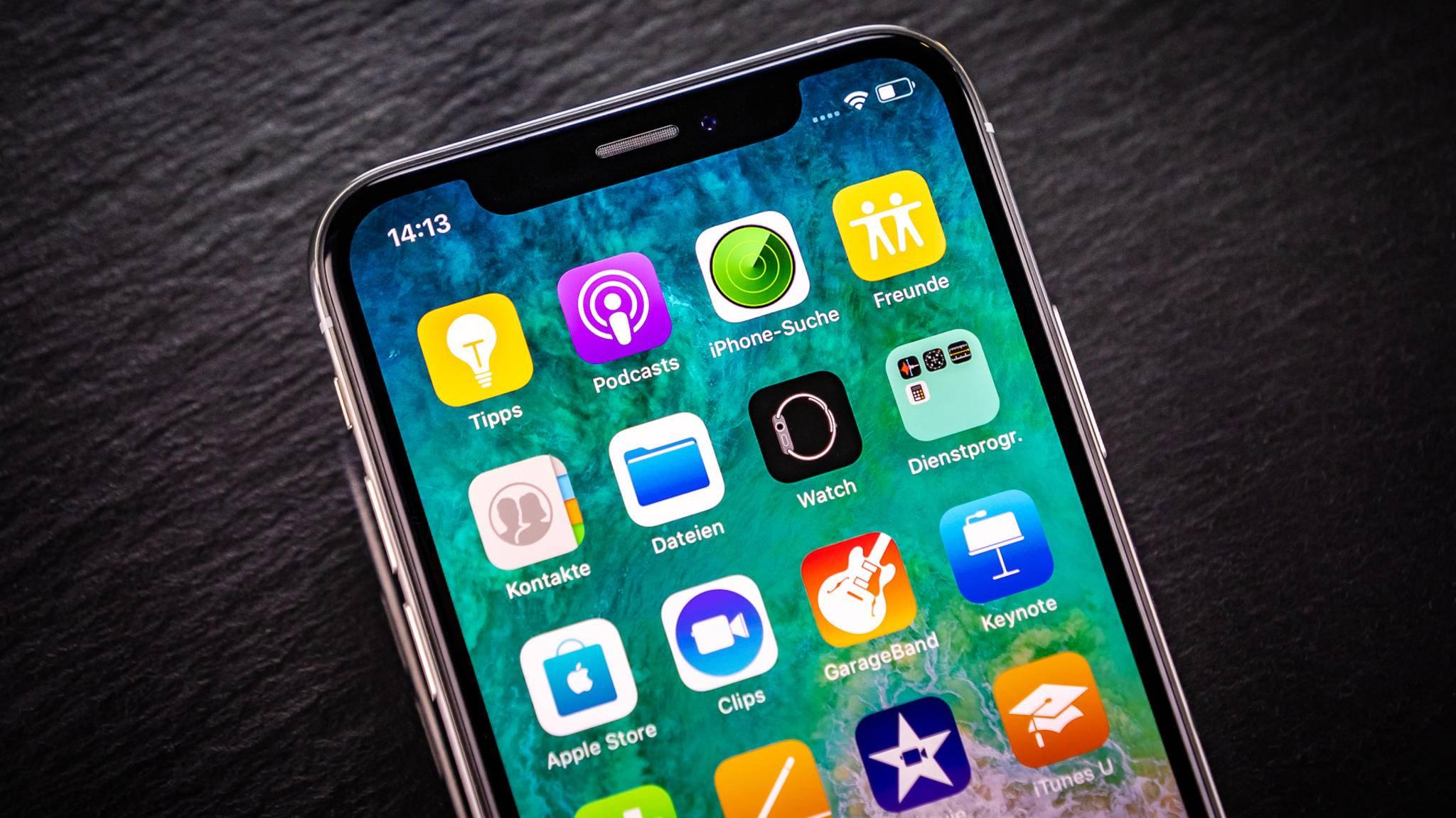 Die Notch des iPhone X war 2018 für viele Hersteller eine große Inspiration.