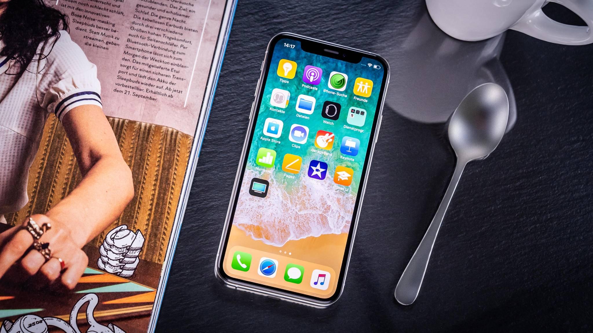So schön sieht das iPhone XS nach einem Sturz wohl nicht mehr aus.