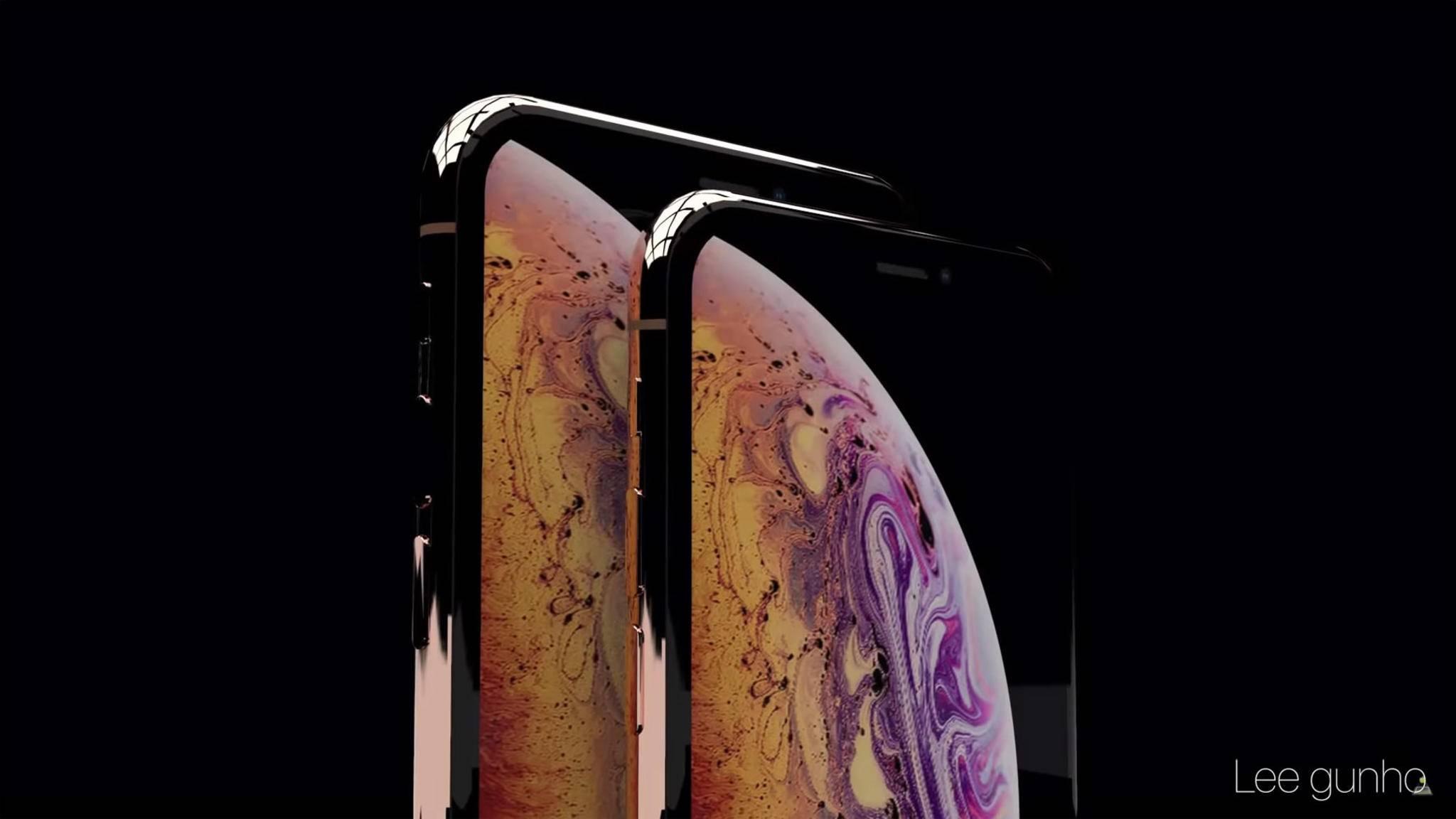 Das iPhone Xs Max soll ein riesiges Display mit 6,5 Zoll Diagonale besitzen.