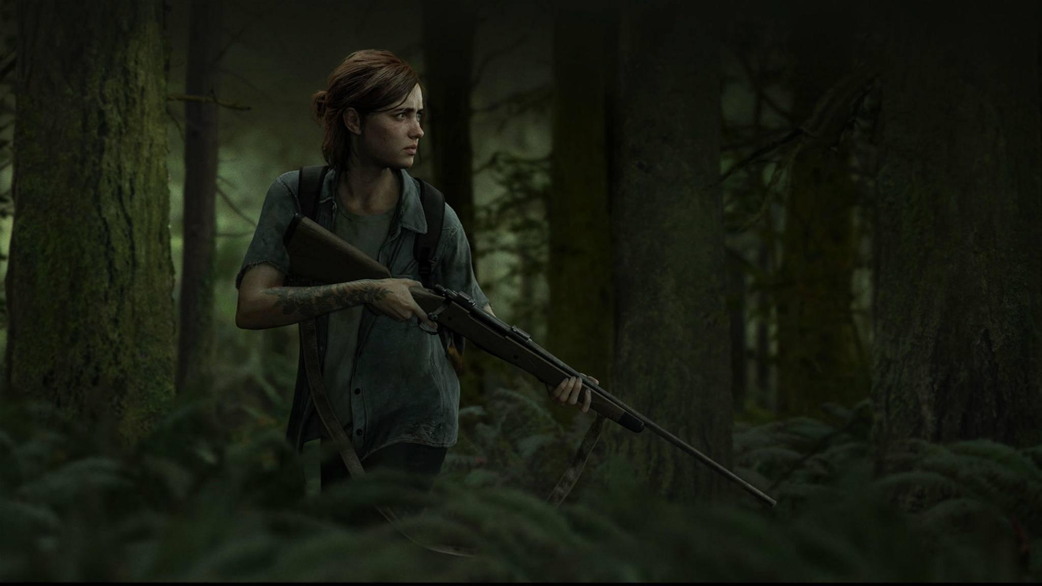 """Ellie auf der Pirsch: """"The Last of Us Part 2""""."""