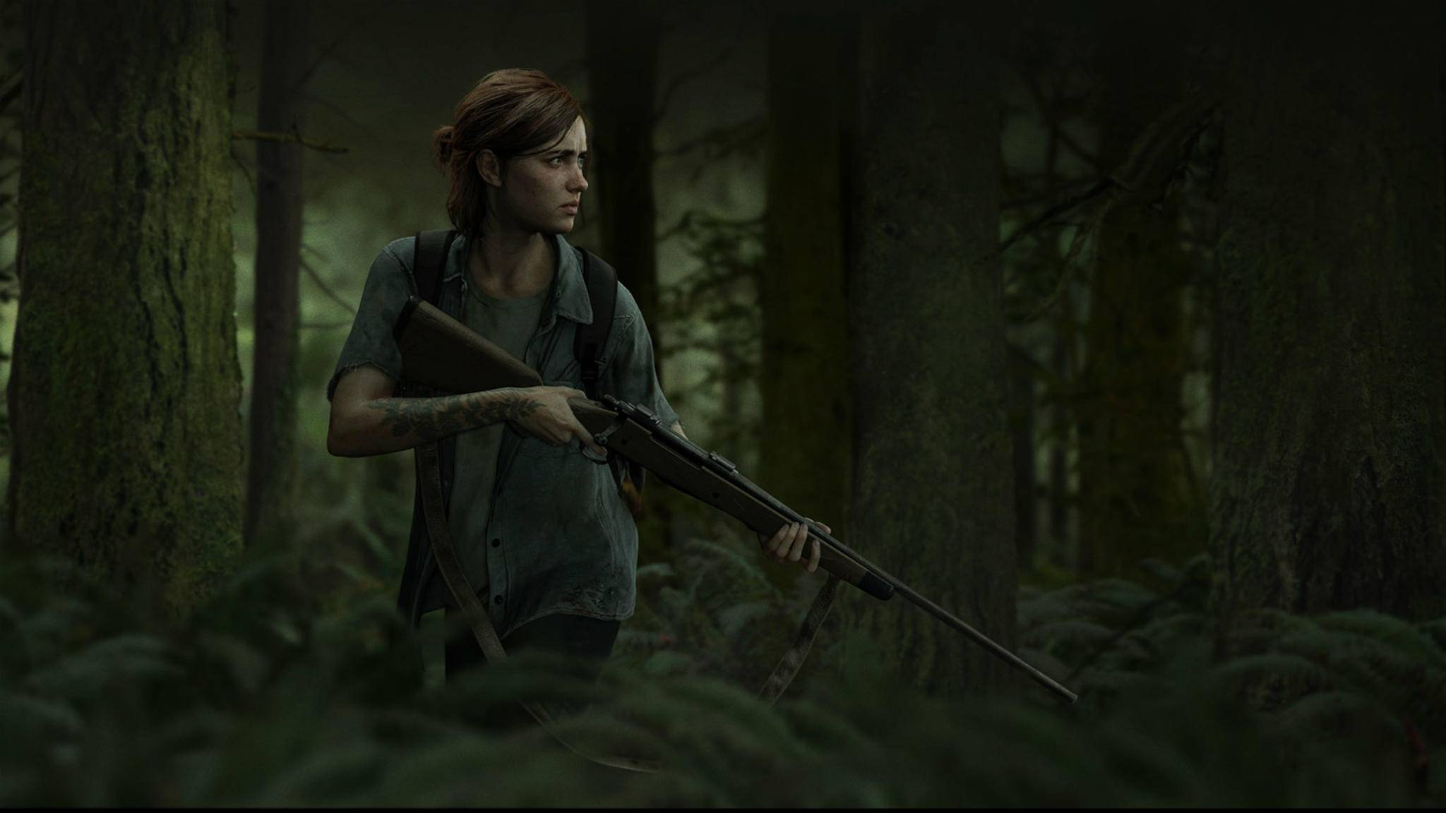 "Ellie auf der Pirsch: ""The Last of Us Part 2""."
