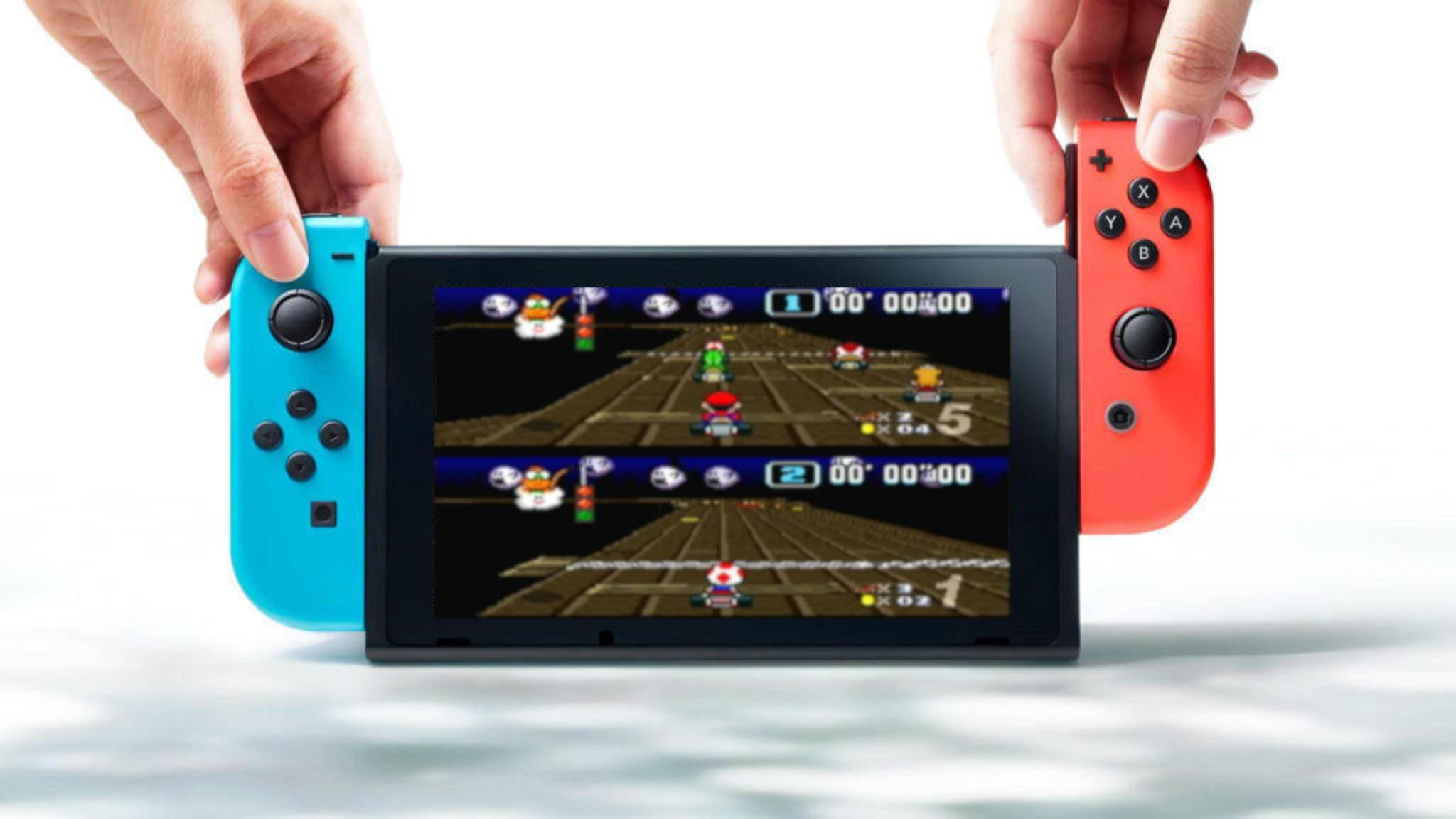 Nintendo könnte es bei der Switch wie beim 3DS machen.