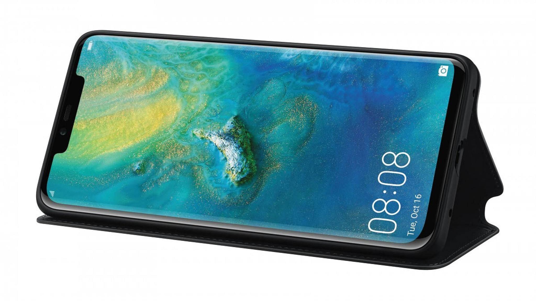 Kein iPhone XS, sondern ein Huawei Mate 20 Pro: So soll das kommende Flaggschiff wohl aussehen.