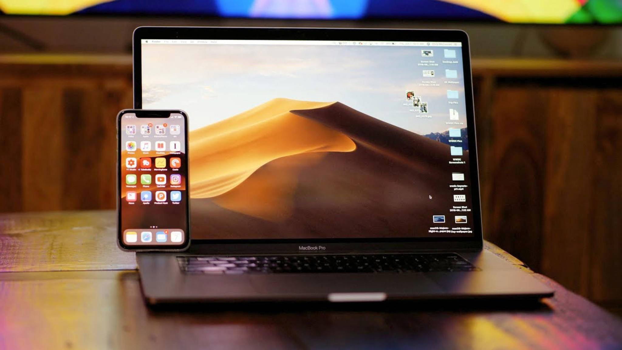 Apple hat macOS Mojave zum Download bereitgestellt.
