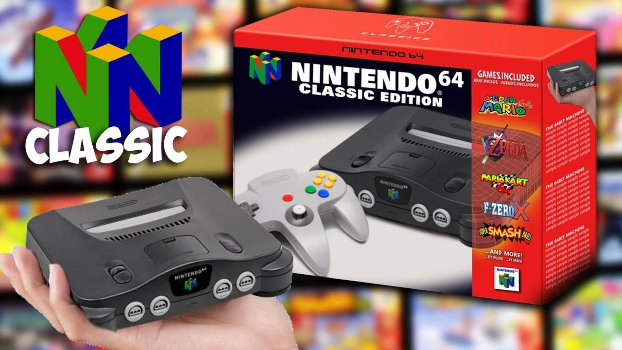 Könnte rechtzeitig zum Weihnachtsgeschäft kommen: das N64 Classic Mini.