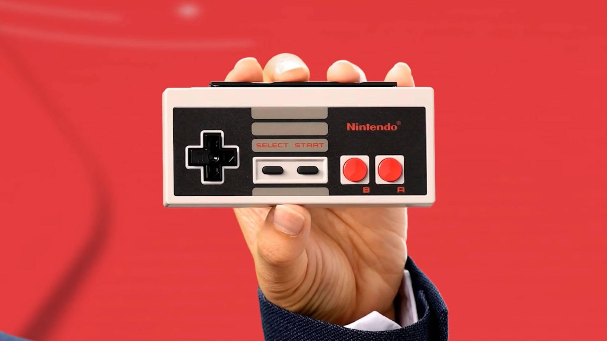 Für die Nintendo Switch wurde ein NES-Controller vorgestellt.