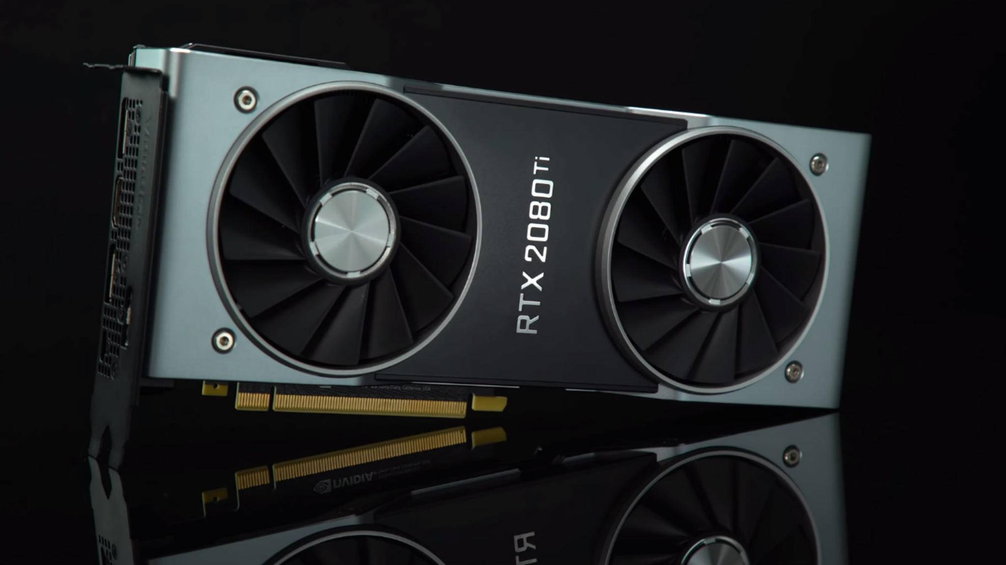 Die Nvidia RTX 2080 Ti rechnet deutlich schneller als die GTX 1080 Ti.