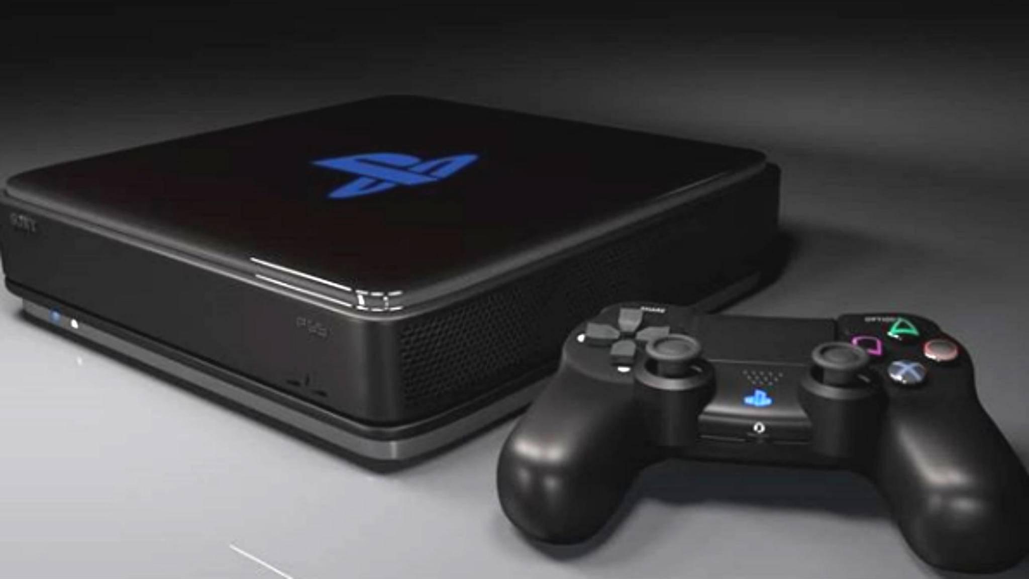 Konzeptbild: Die PS5 kommt mit viel mehr Grafik-Power.