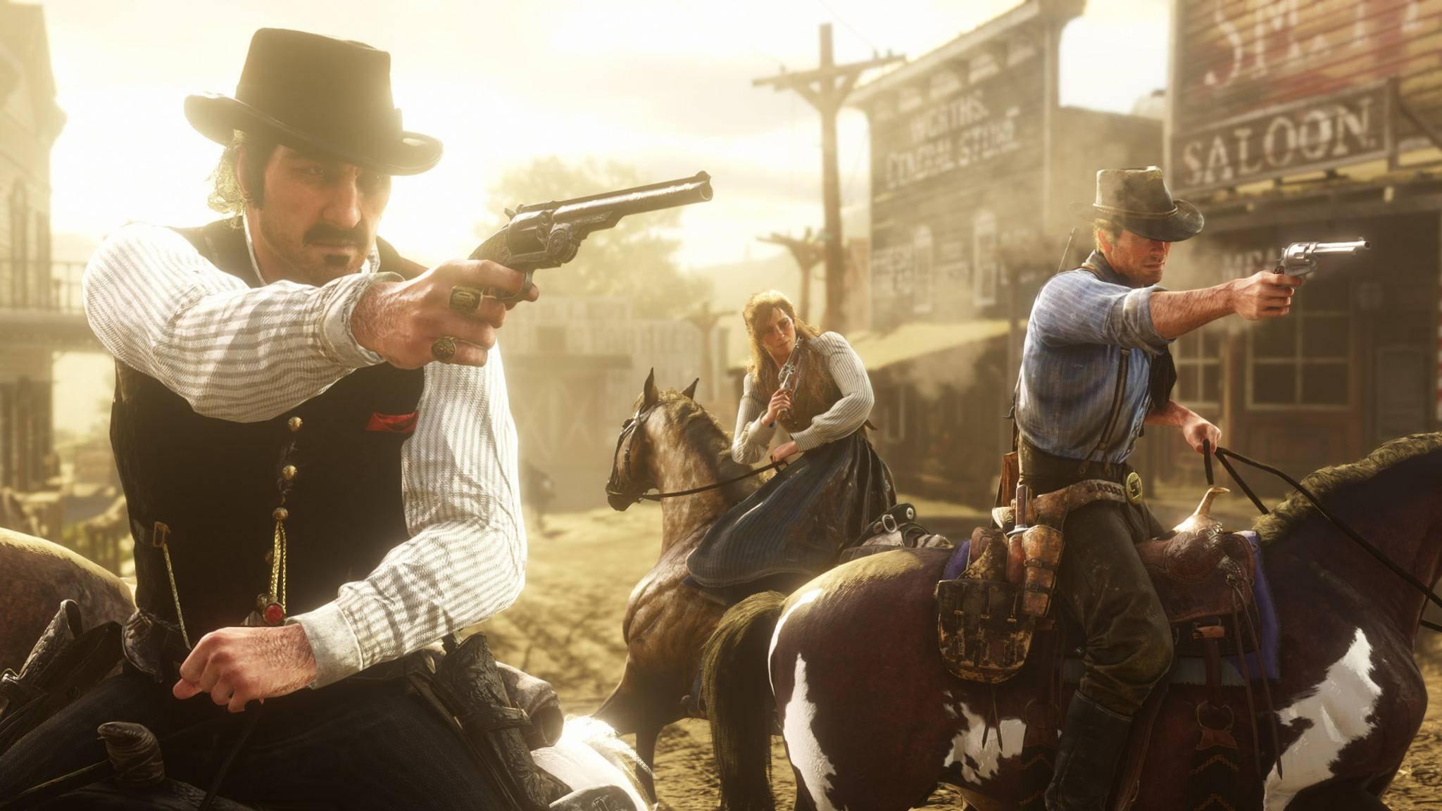 """""""Red Dead Redemption 2"""" erscheint am 26. Oktober."""