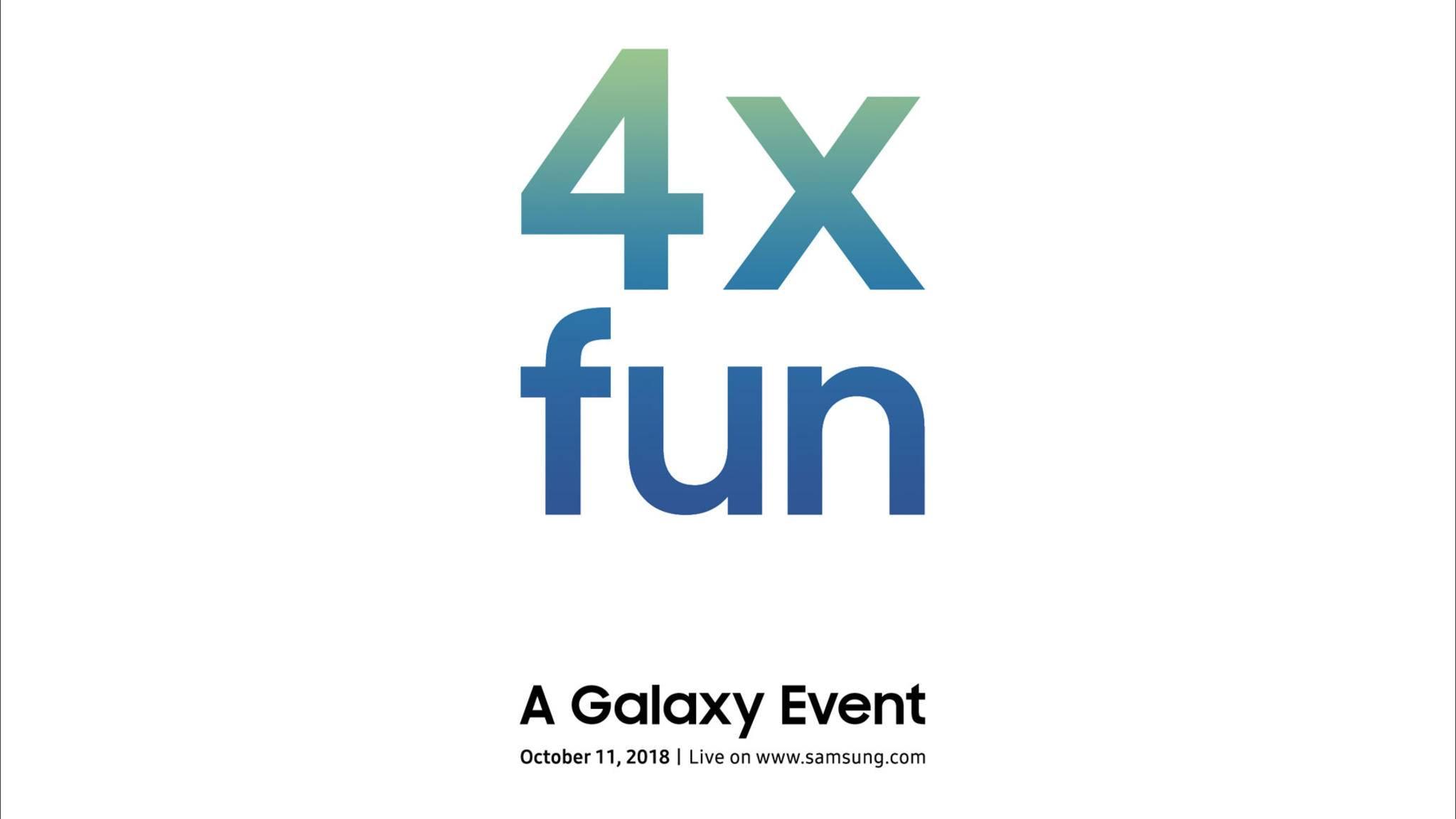 """Steht """"4x fun"""" etwa für ein Smartphone mit vier Kameras?"""