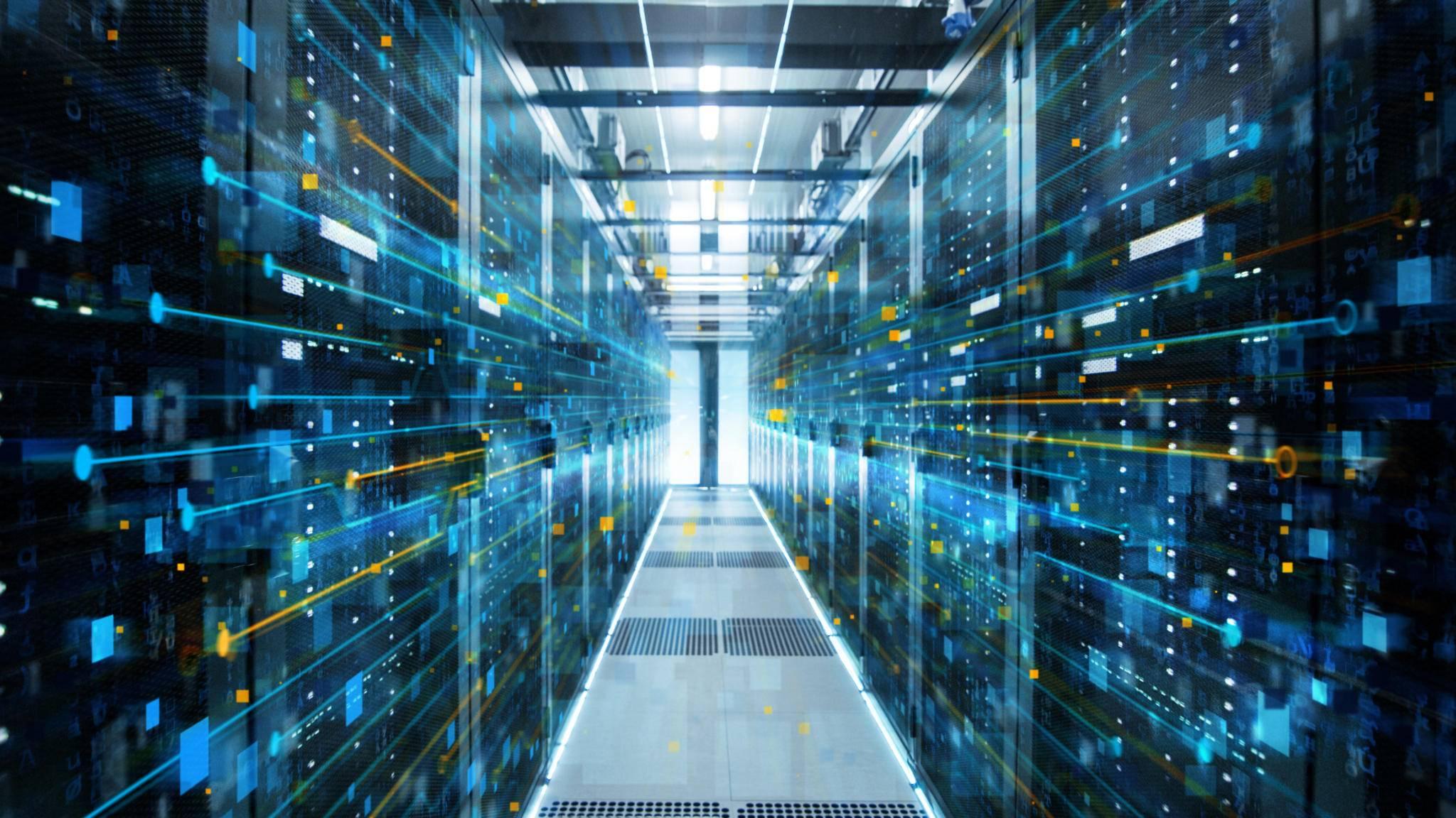 Beim Cloud Gaming läuft Dein Spiel auf einem Superrechner im Serverraum, das Bild wird zu Dir gestreamt.